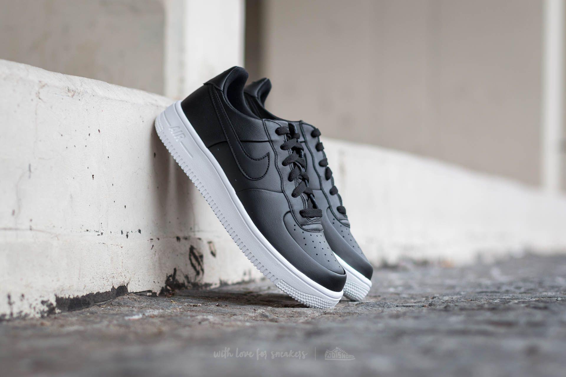 Nike Air Force 1 Ultraforce (GS) Black Black White | Footshop