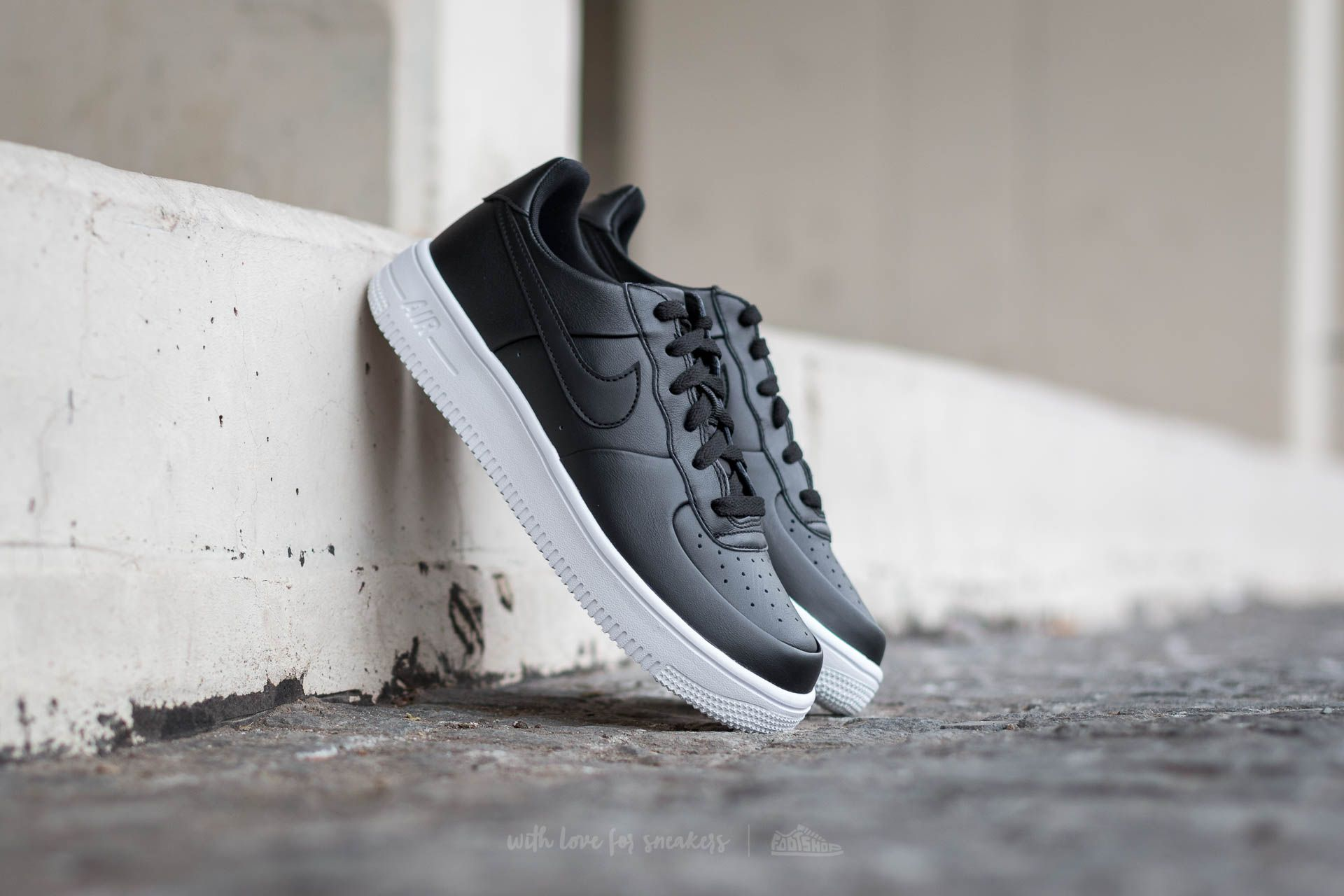 new product 40756 729dc Nike Air Force 1 Ultraforce (GS) Black/ Black-White | Footshop
