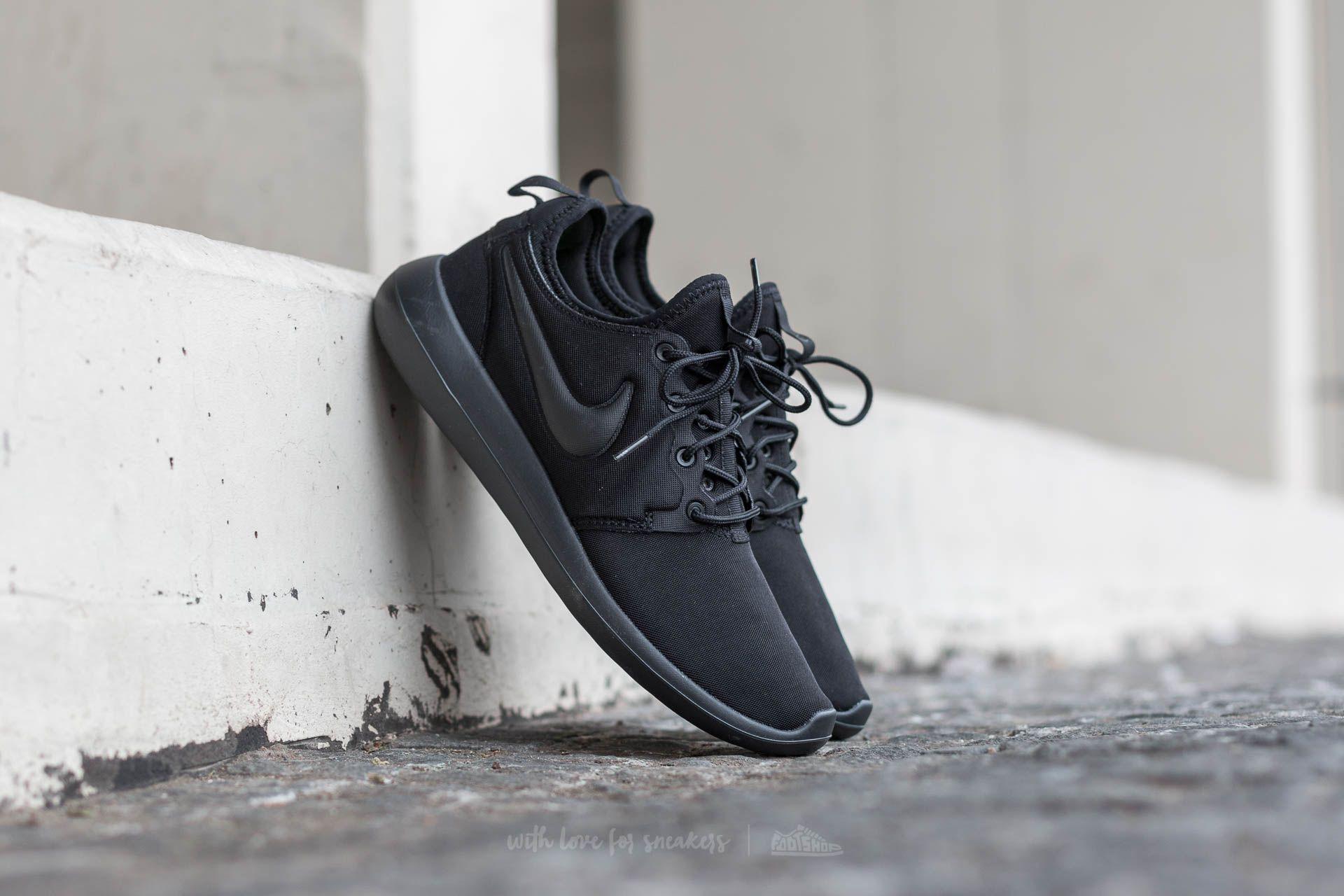 quality design ee96a 24032 Nike Roshe Two Black  Black-Black   Footshop
