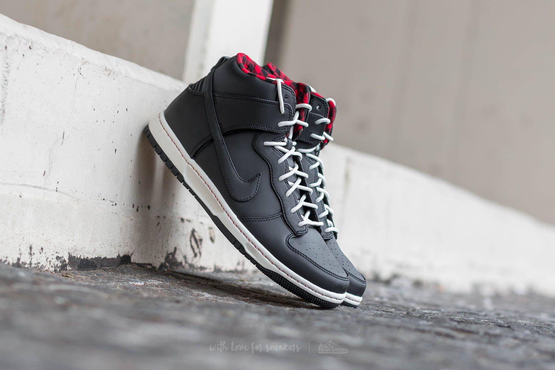 sports shoes 162d6 c8e5b Nike Dunk Ultra Black  Black-Sail-Sport Red   Footshop
