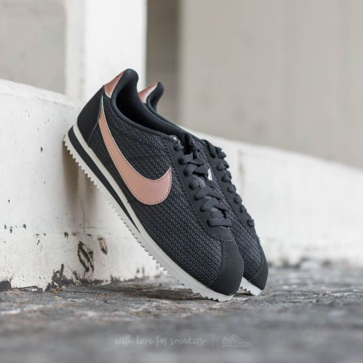 authorized site famous brand 100% high quality Nike W Classic Cortez Leather Lux Black/ Metalic Red Bronze ...
