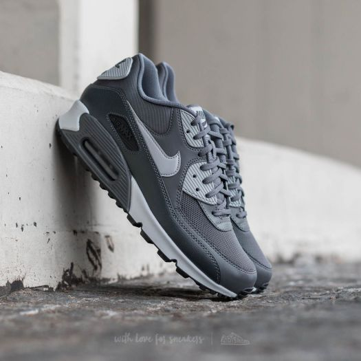 Nike Wmns Air Max 90 Essential Dark Grey Wolf Grey Anthracite | Footshop