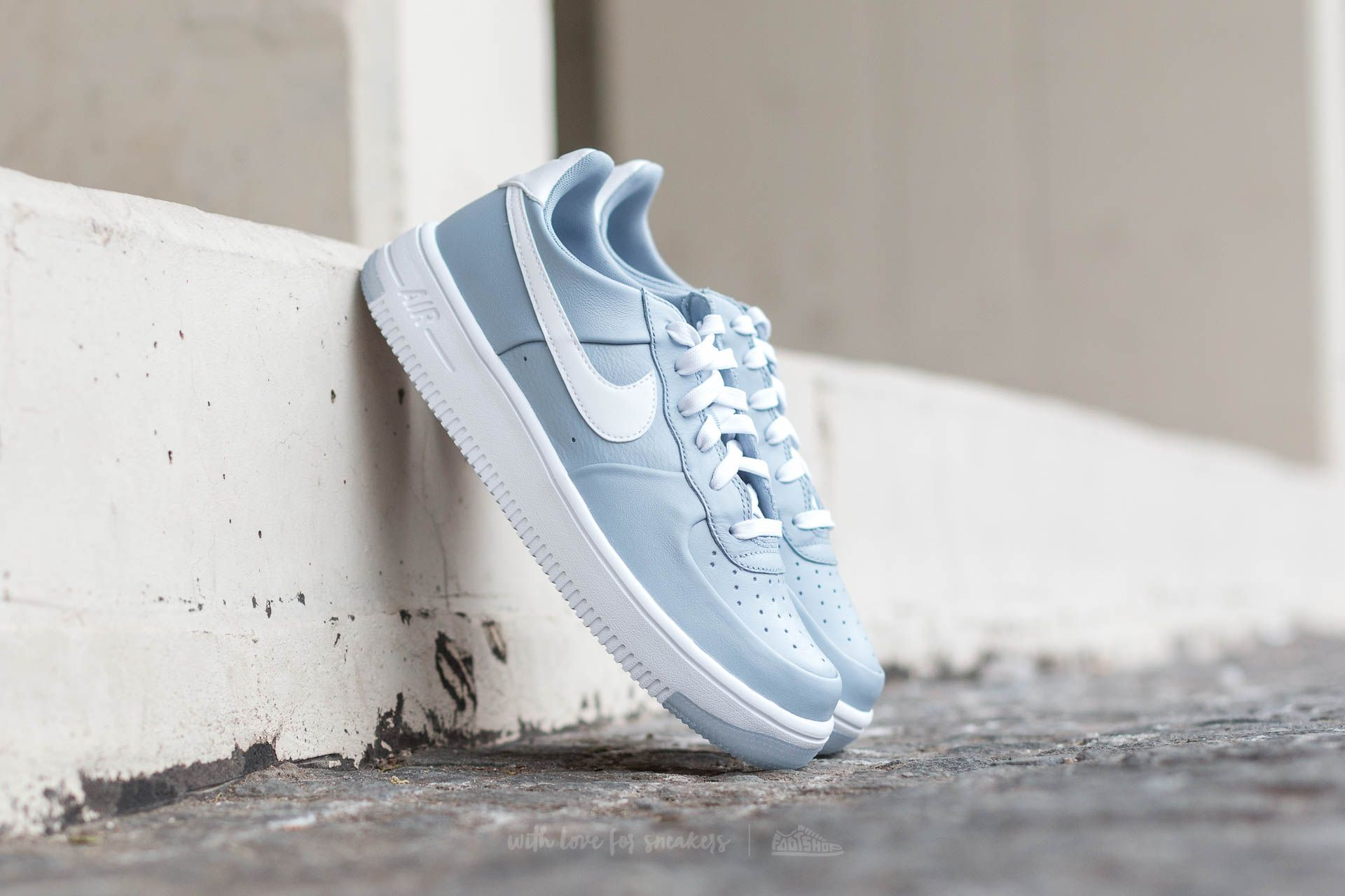 Nike Air Force 1 Ultraforce (GS) Blue Grey  White  9479b2e14b