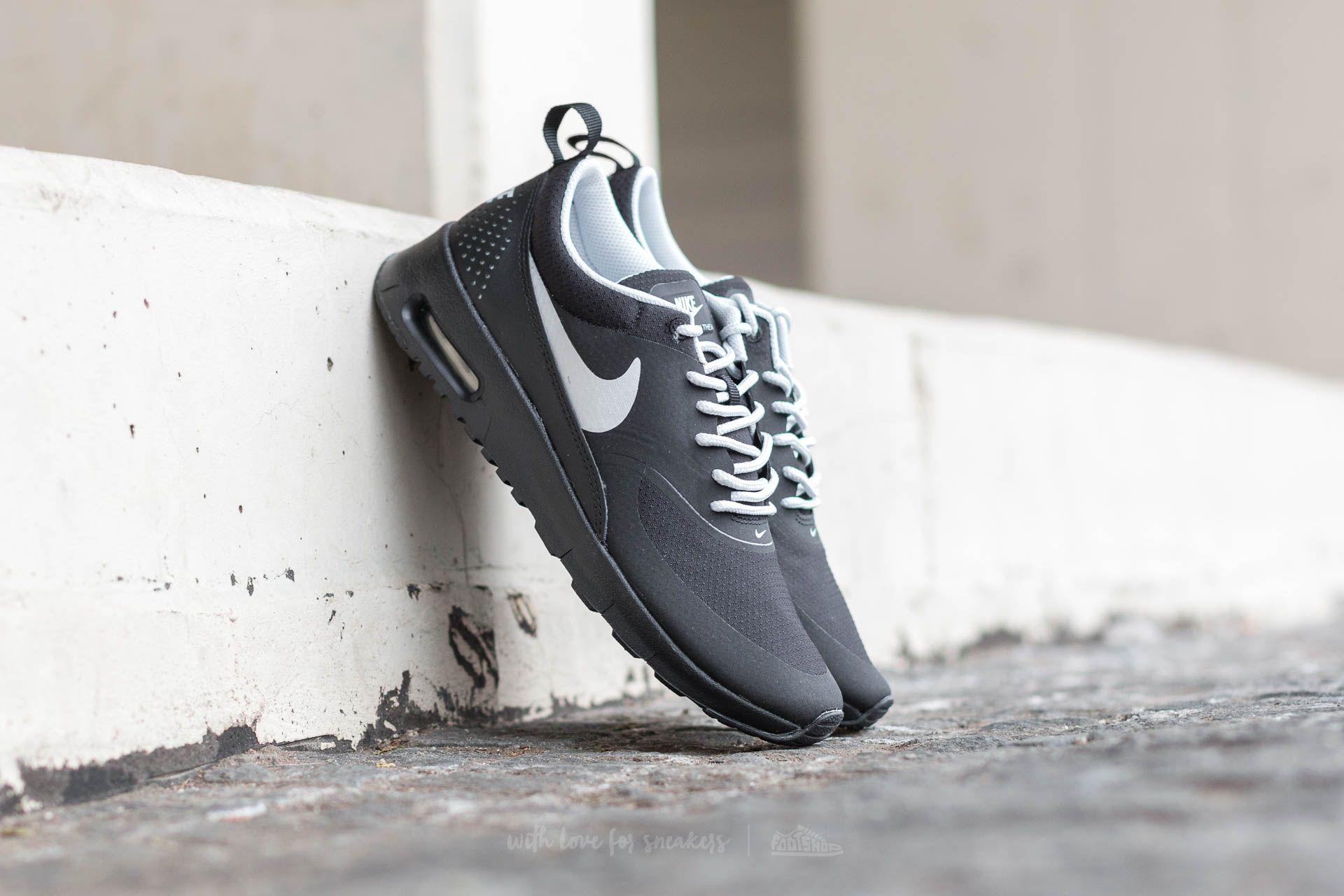 6fac0cb09 Nike Air Max Thea (GS) Black/ Metallic Platinum-Pure Platinum ...