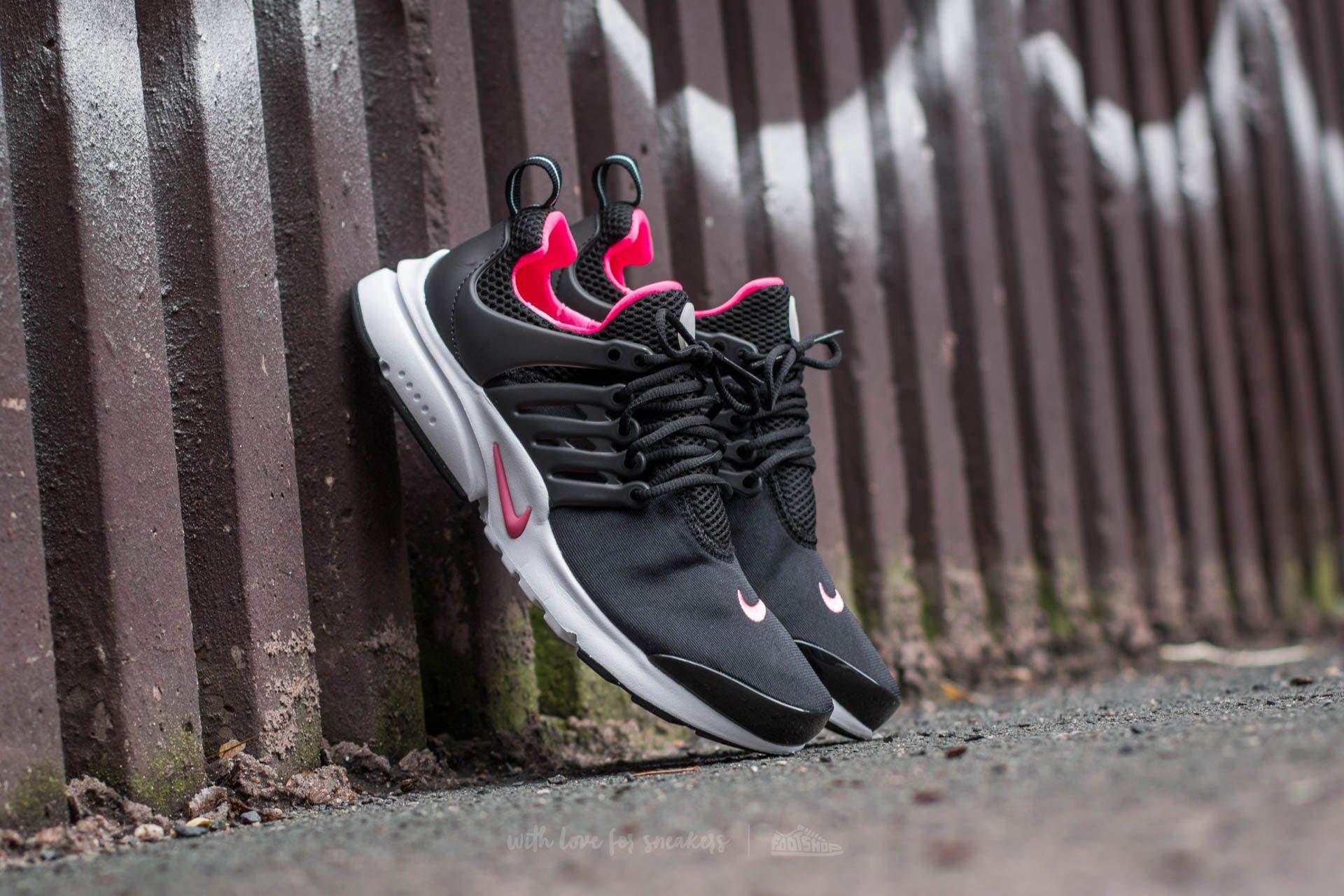 1cd89f5fbc30 Nike Presto (GS) Black  Hyper Pink-White