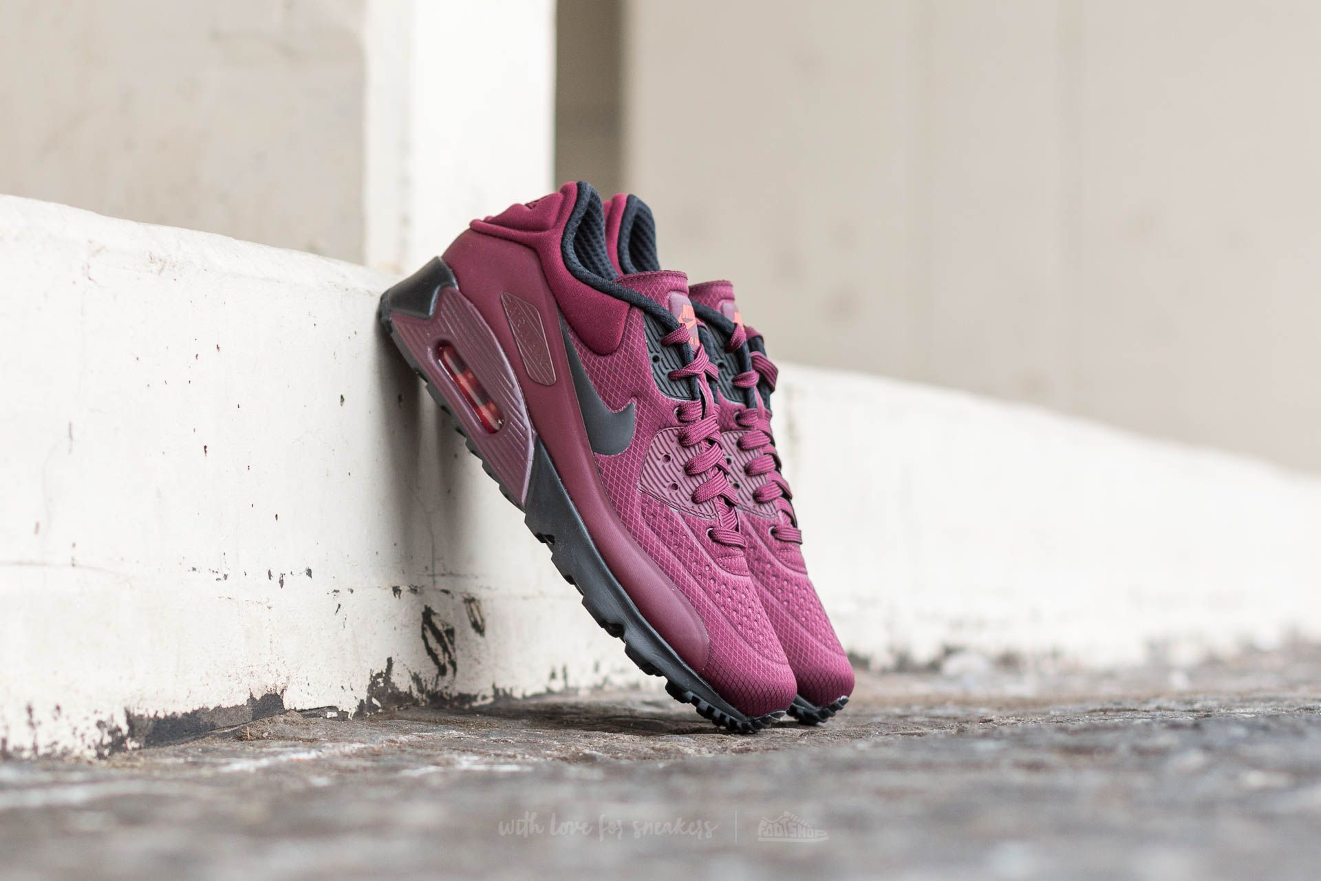 5d083db636 Nike Air Max 90 Ultra SE Night Maroon/ Black | Footshop