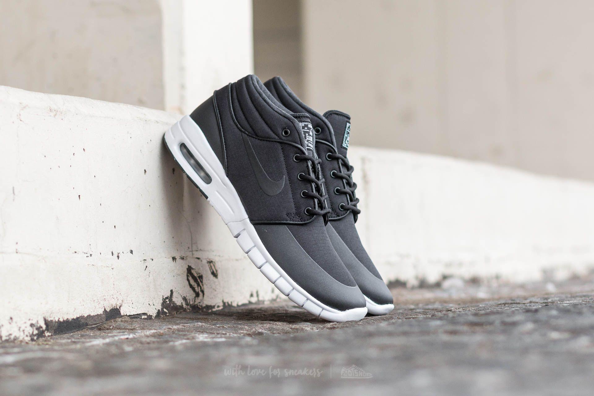 cheap for discount 71bcf fc0e2 Nike Stefan Janoski Max MID. Black  Black-Metallic Silver