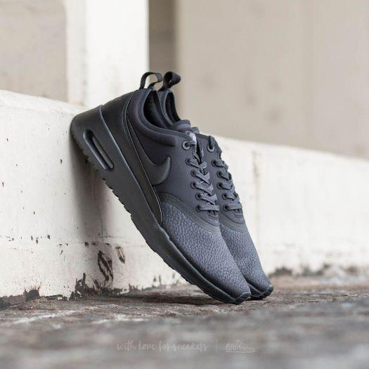 Nike W Air Max Thea Ultra Premium Black  Black-Cool Grey  bbaafe2a0081
