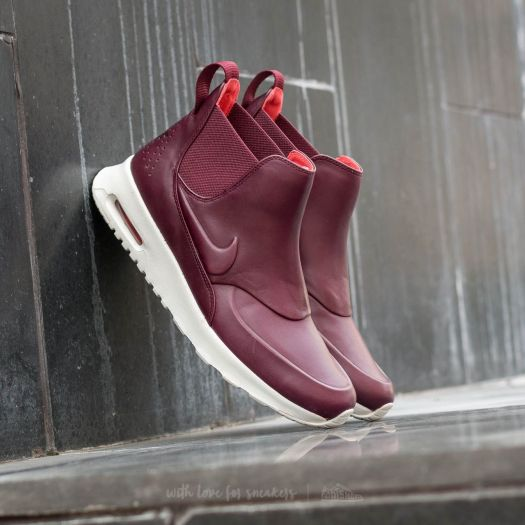 Nike W Air Max Thea Mid Night Maroon Night Maroon Sail