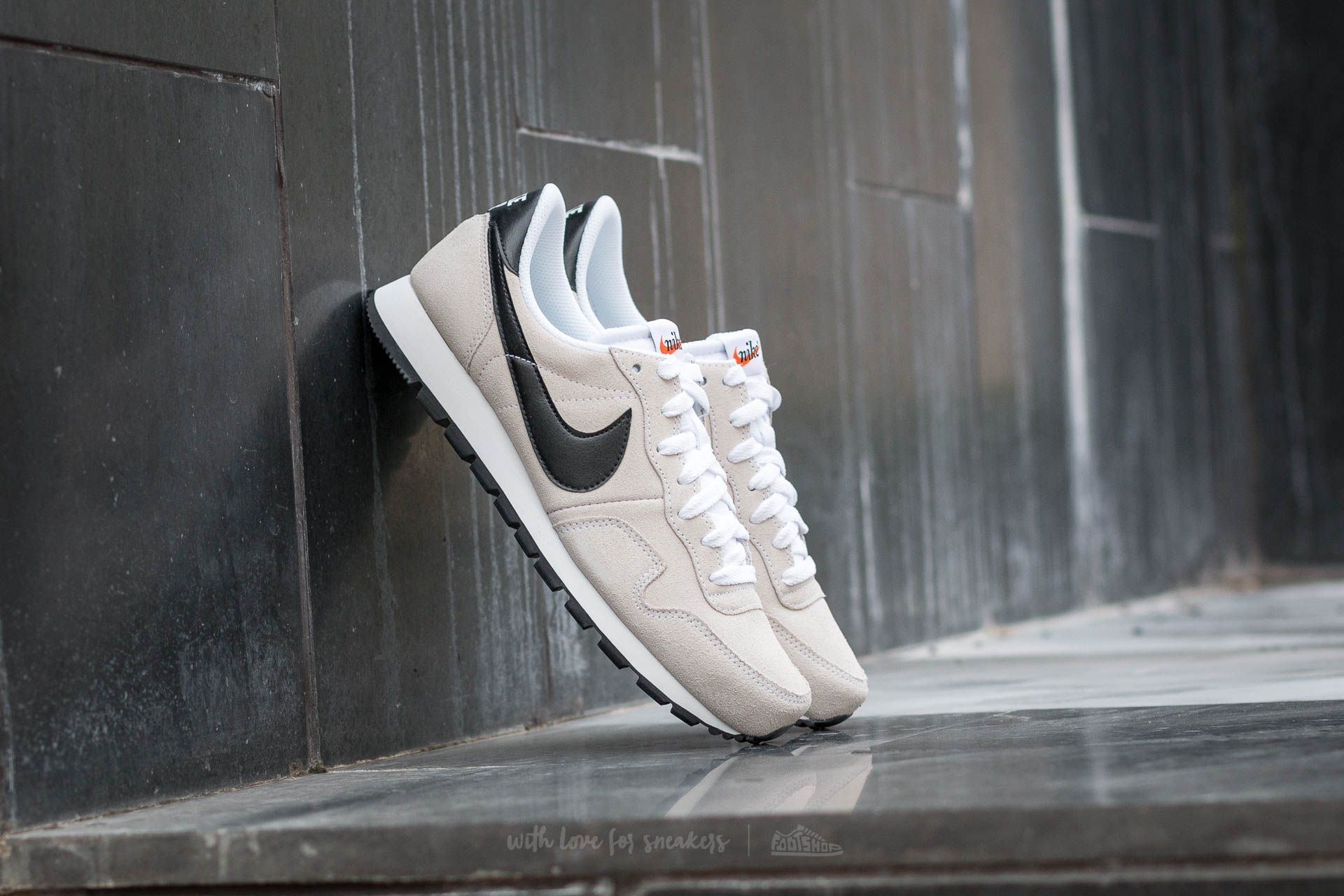 Nike Air Pegasus 83 Leather White Black Summit White | Footshop
