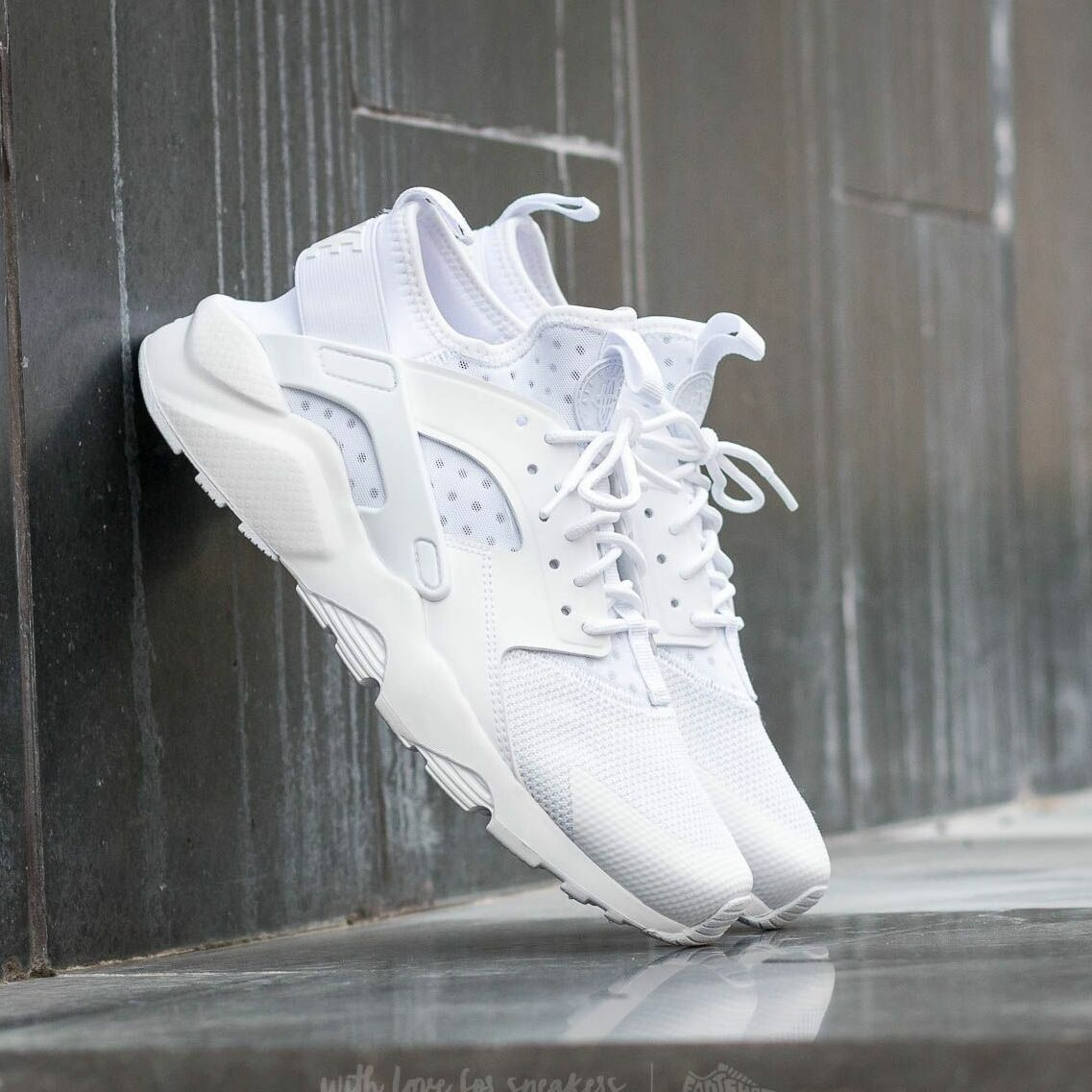 Nike Air Huarache Run Ultra White/ White-White EUR 45