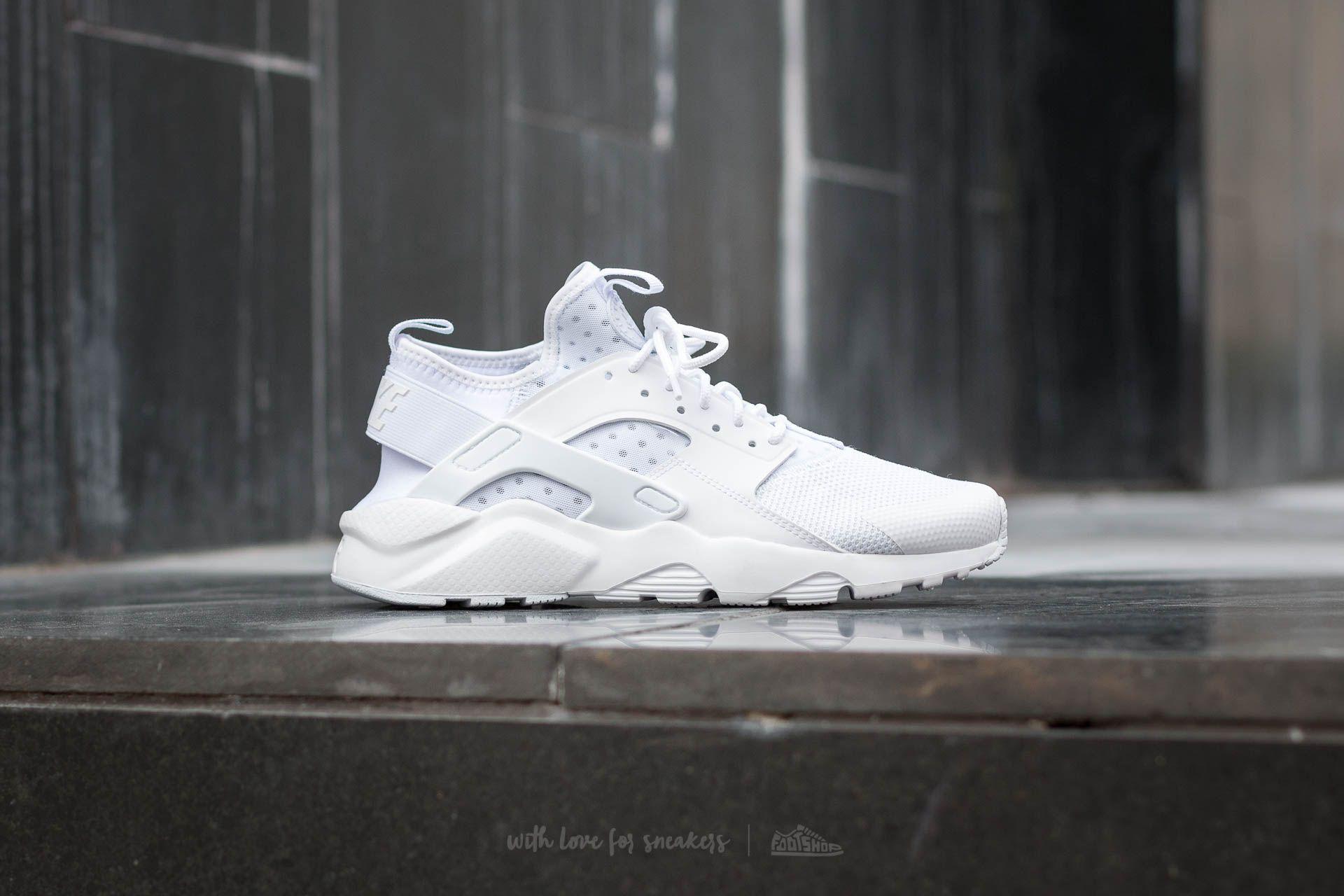 szukać jakość ogromna zniżka Nike Air Huarache Run Ultra White/ White-White | Footshop