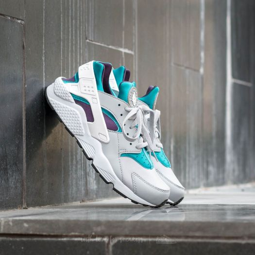 buy cheap online for sale best supplier Nike Air Huarache Wolf Grey/ White-Aquatone-Purple Dynasty ...