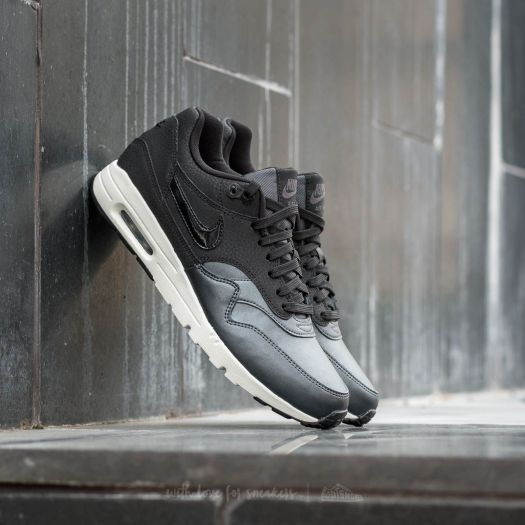 Nike Air Max 1 Ultra SE Premium Black Metallic Hematite