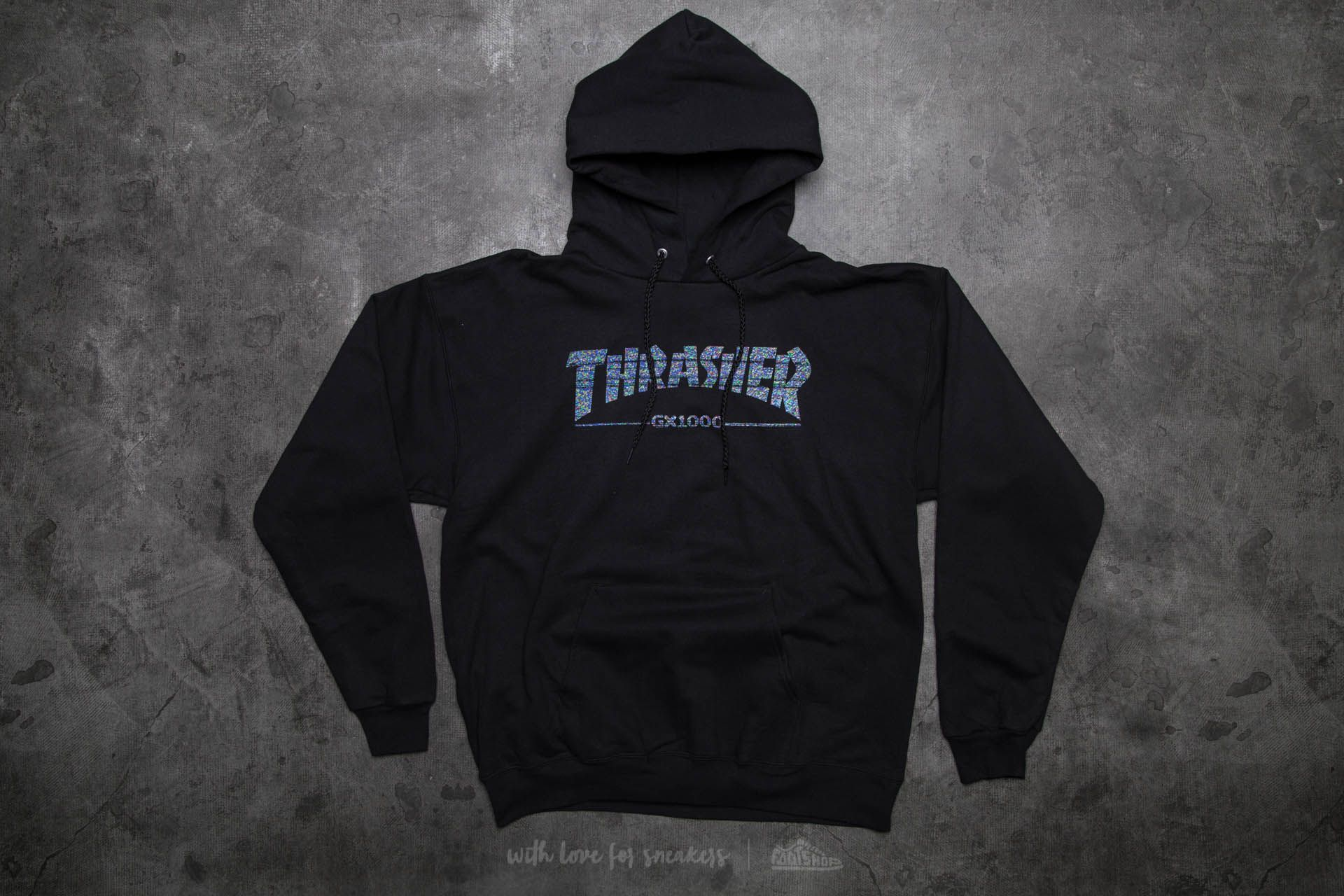 Thrasher GX1000 Hood Black