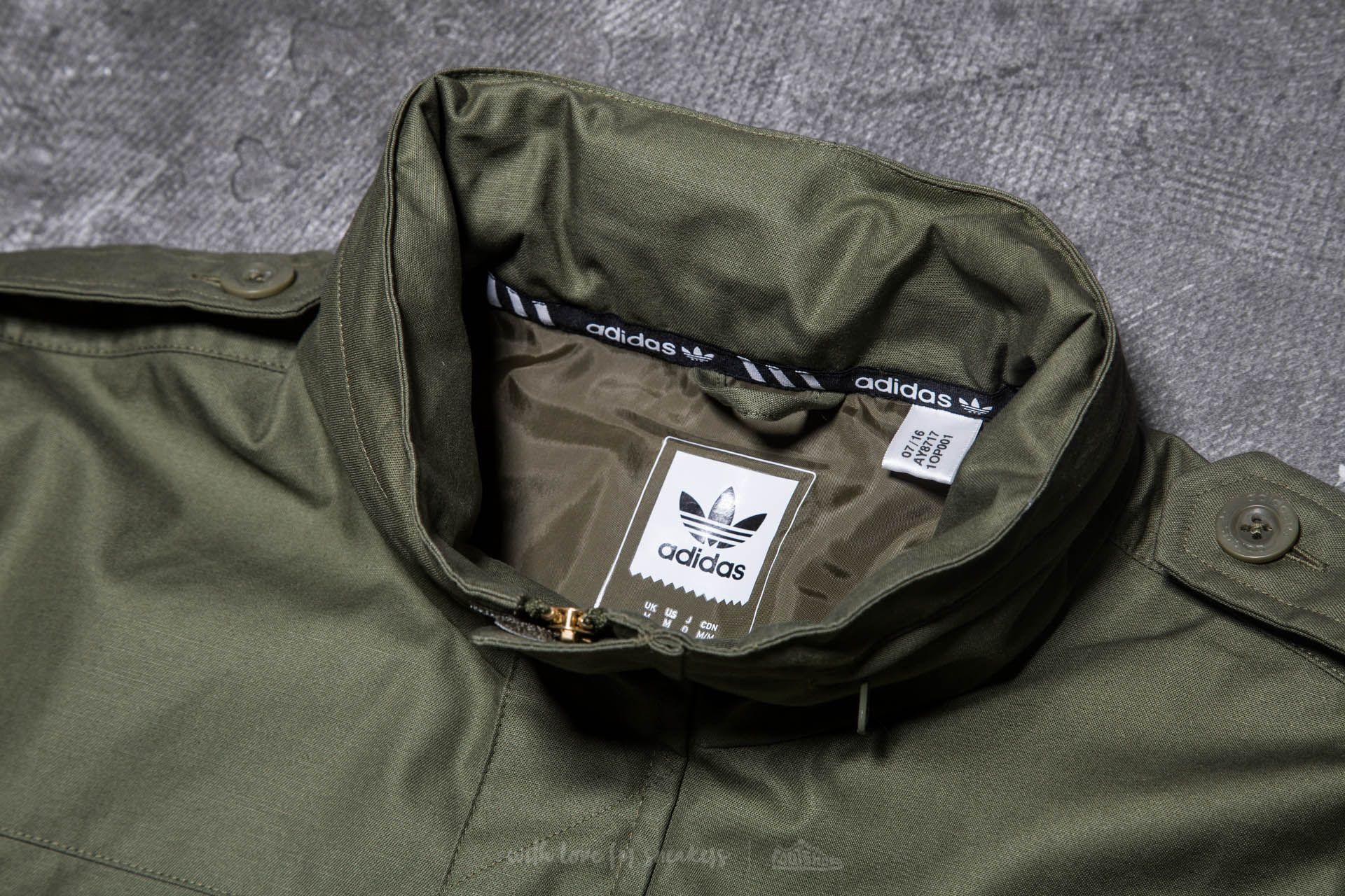 adidas Field Jacket Olive Cargo | Footshop