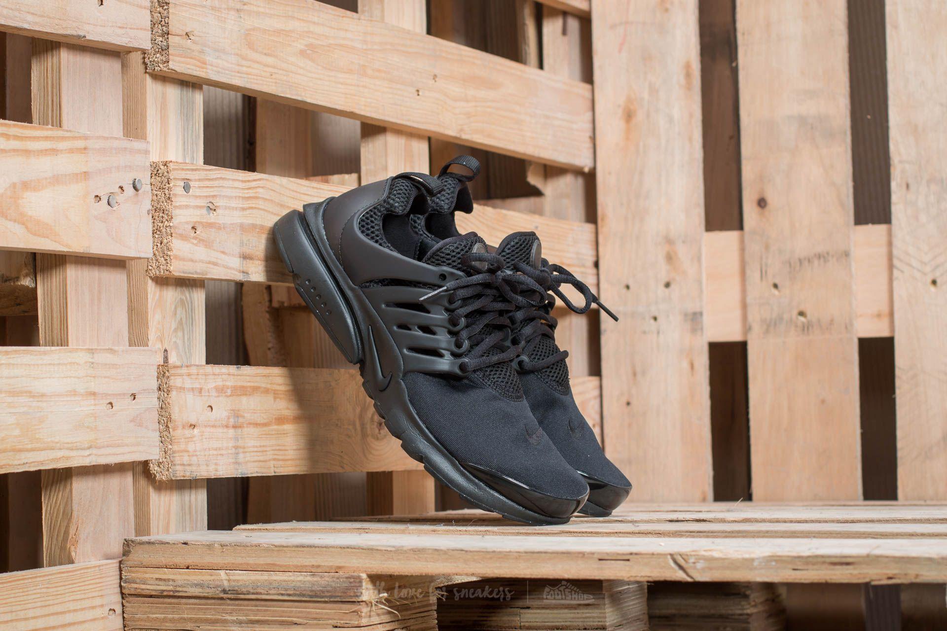 Women's shoes Nike Presto (GS) Black