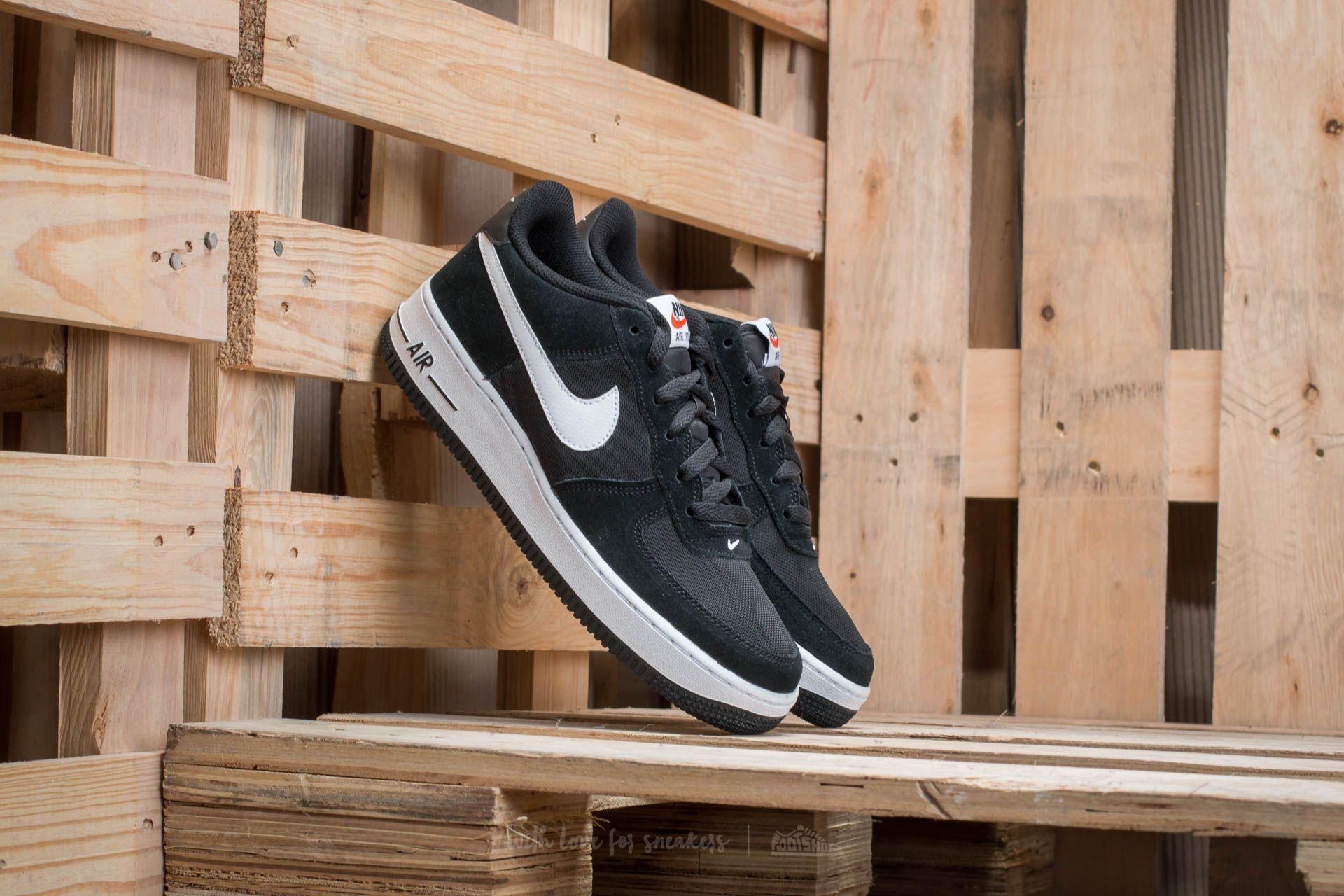 Nike Air Force 1 (GS) Black  White  9400bfa3d