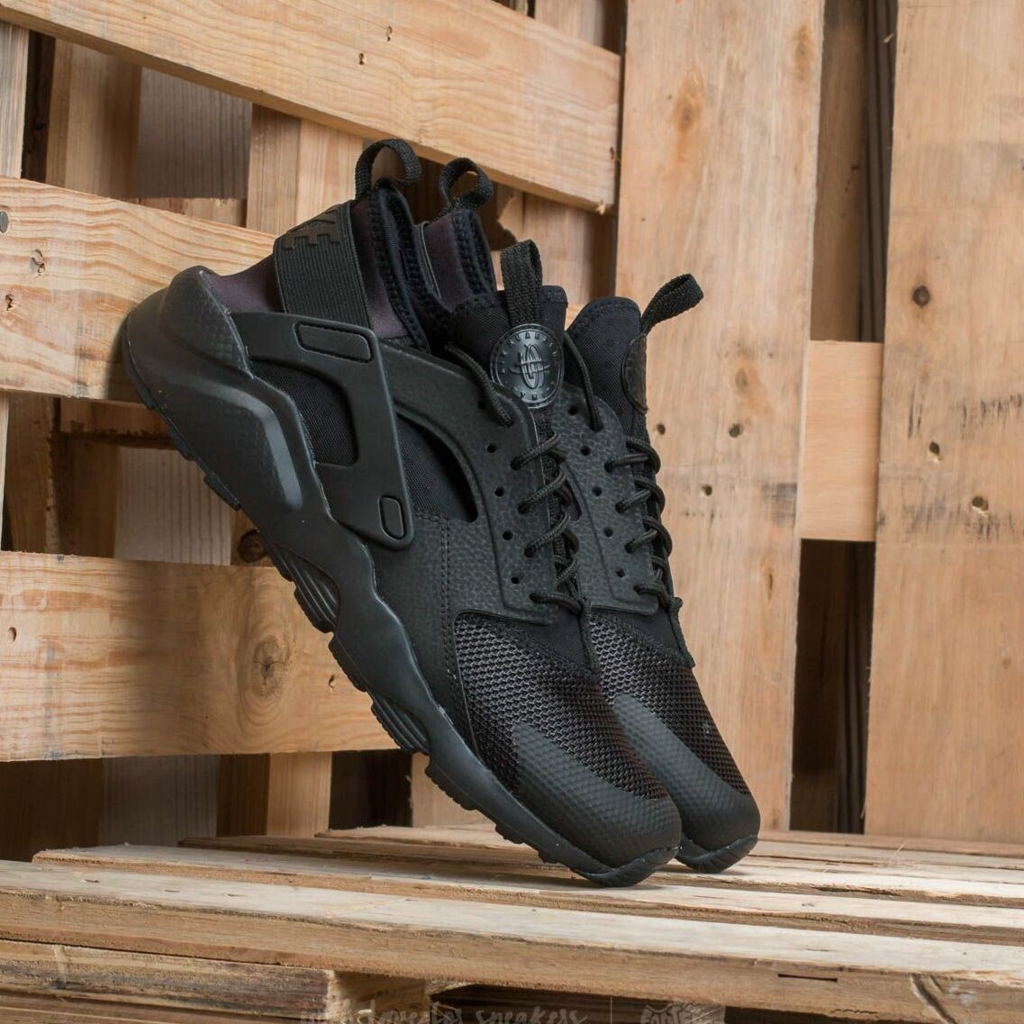 Nike Air Huarache Run Ultra Gs Black/ Black EUR 36.5