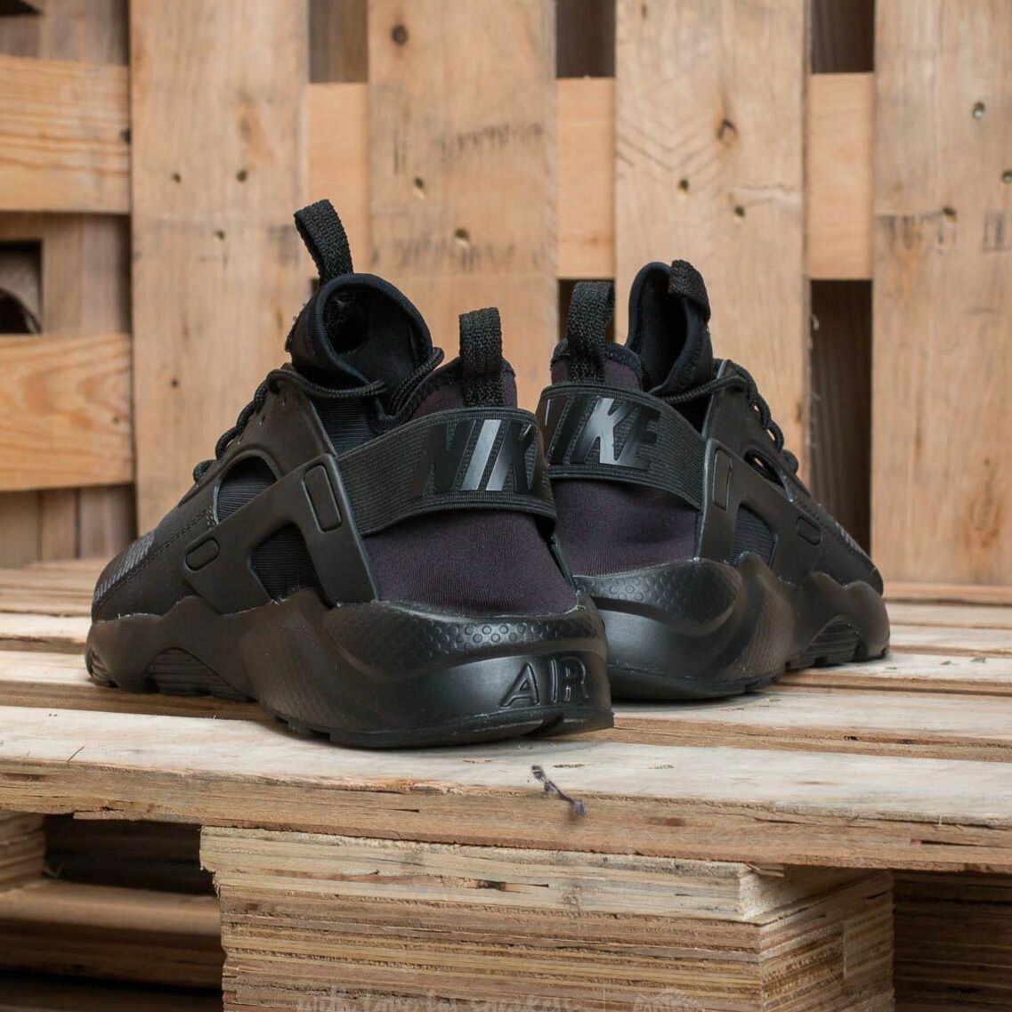 Nike Air Huarache Run Ultra Gs Black/ Black