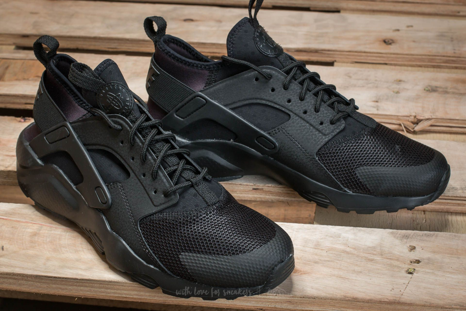 competitive price 41993 0a2bf Nike Air Huarache Run Ultra Gs Black/ Black | Footshop