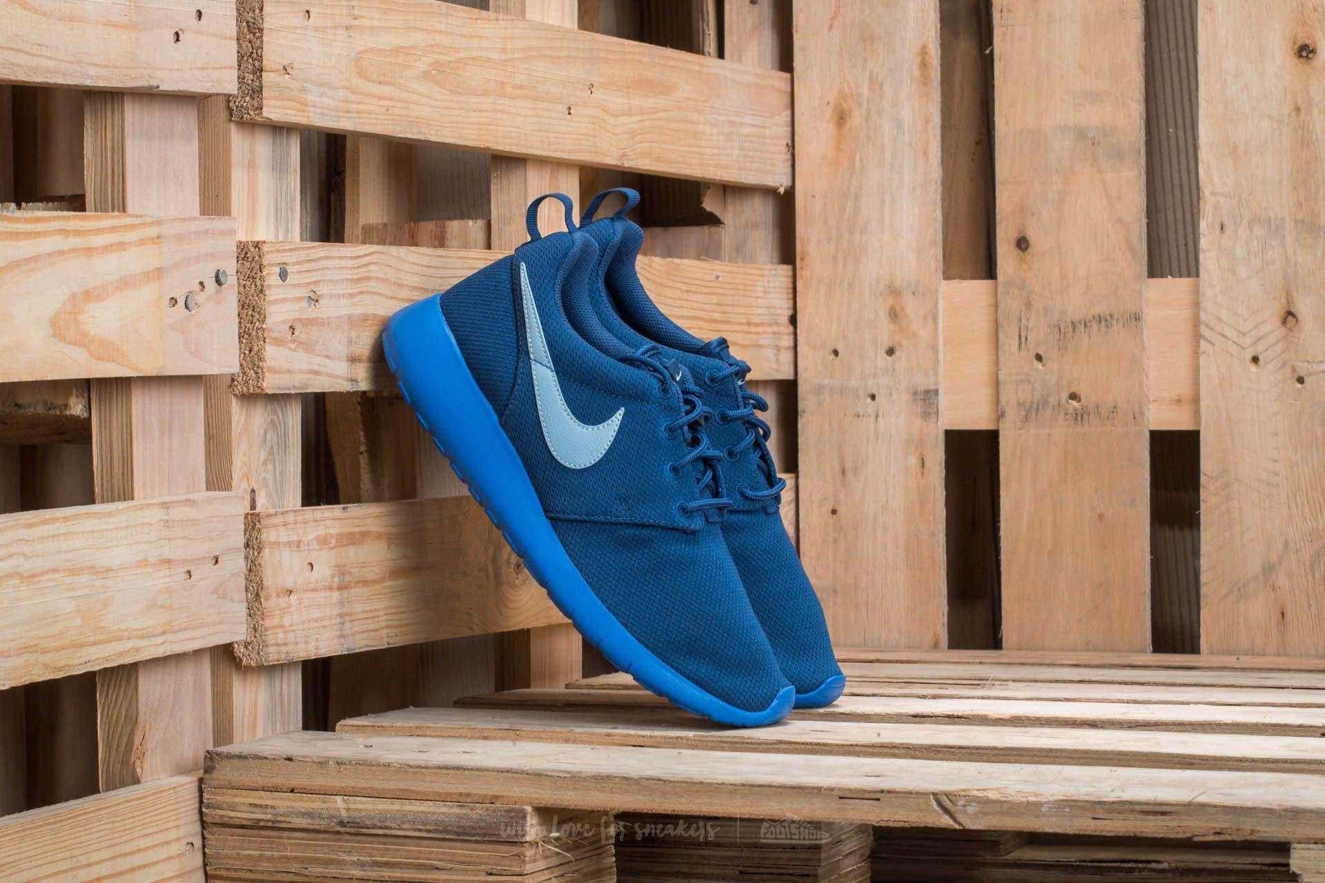 6b850bdc0de0 Nike Roshe One (GS) Coastal Blue  Blue-Grey