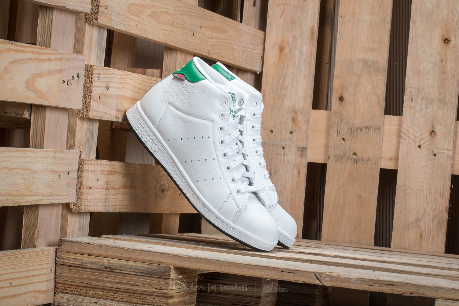 premium selection abc3c 28b1c adidas Stan Smith Winter Ftw White/ Ftw White/ Green | Footshop