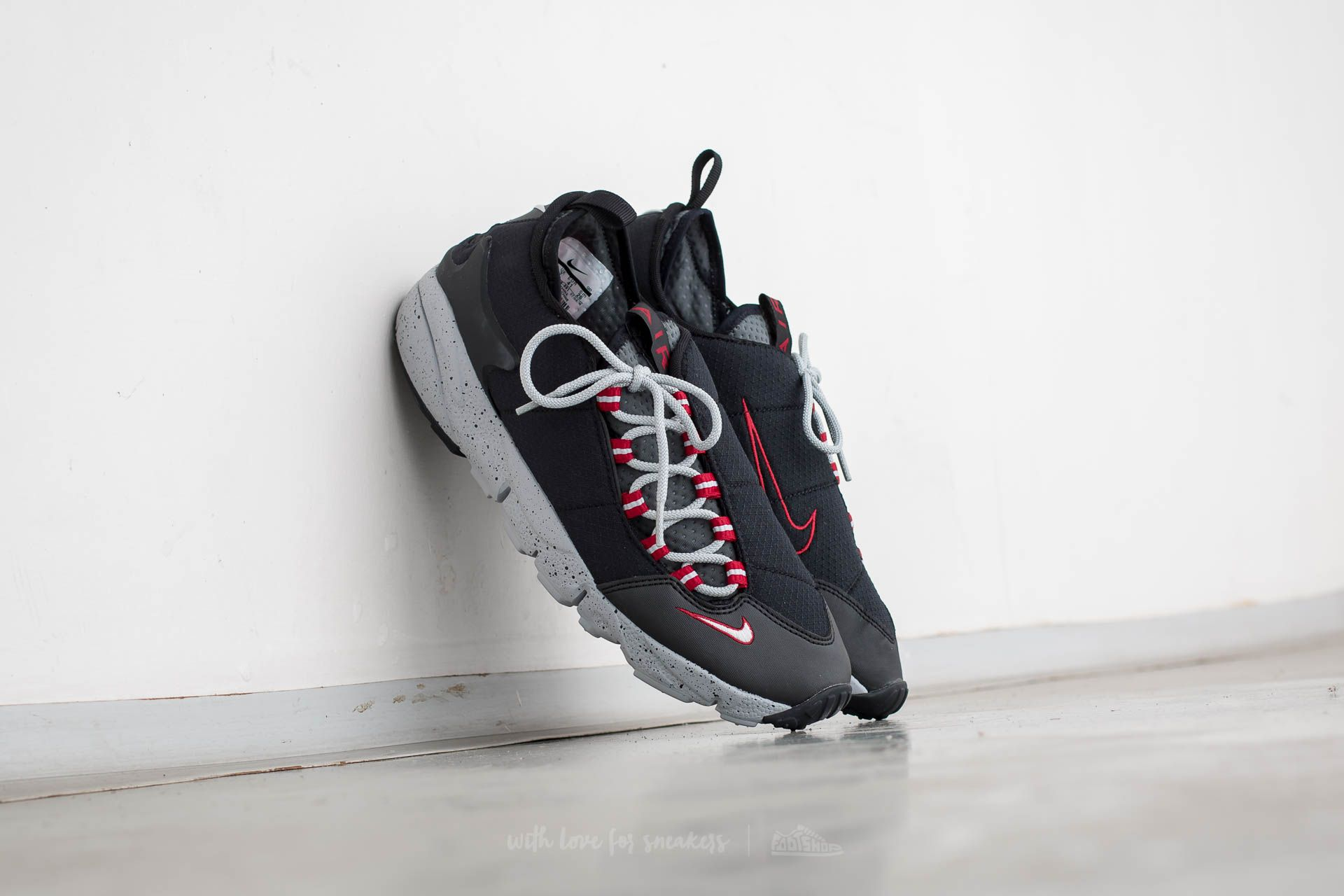 15163177cfca Nike Air Footscape NM Black  Wolf Grey-Wolf Grey