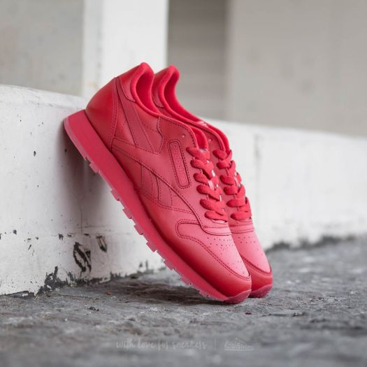 Reebok Classic Leather Solids Scarlet | Footshop