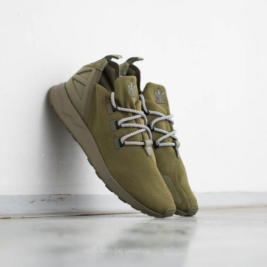 low priced 87807 89513 adidas ZX Flux ADV X Olive Cargo/ Core Black/ Ftw White ...