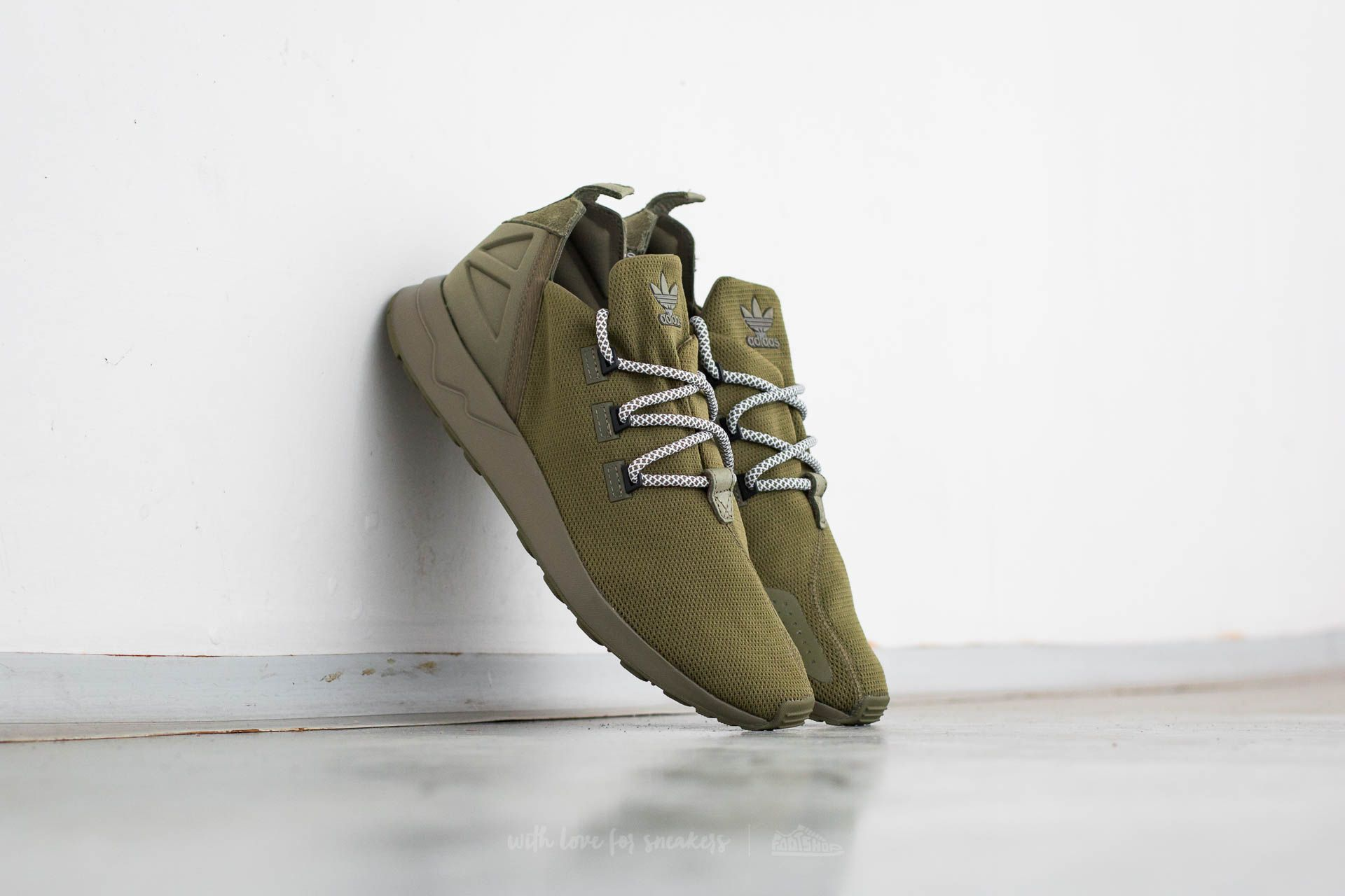 low priced 8412a f67d6 adidas ZX Flux ADV X Olive Cargo/ Core Black/ Ftw White ...