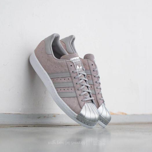 plus de photos 2e413 34ed3 adidas Superstar 80s Metal Toe W Cool Grey/ Cool Grey ...