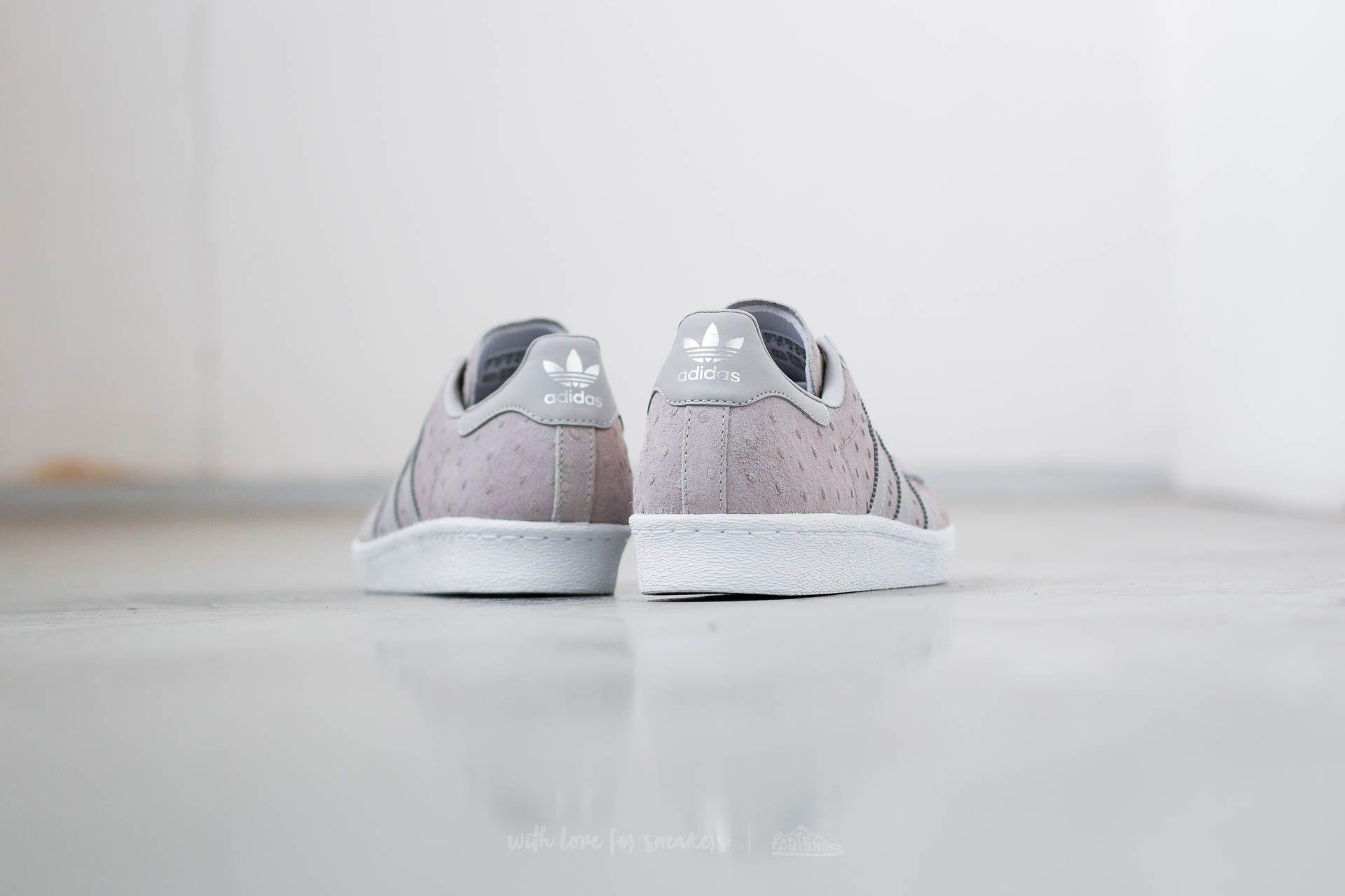 adidas Superstar 80s Metal Toe W Cool Grey Cool Grey