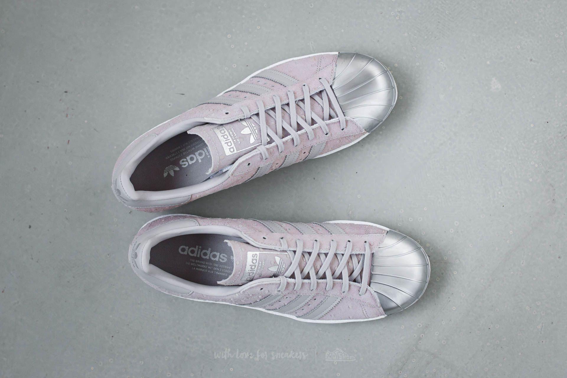 Adidas W Metallic 80s Cool Toe Superstar Metal Grey OuwZkiTPX