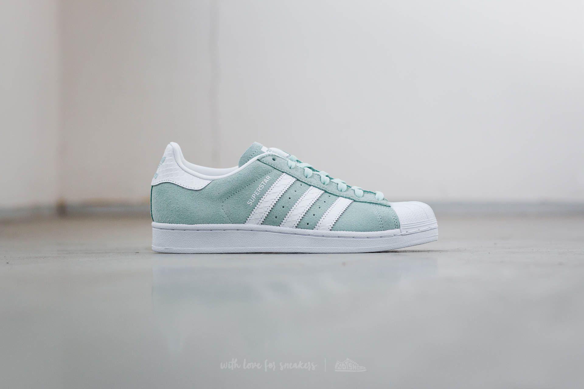 adidas Superstar W Ice Mint/ Ftw White/ Ftw
