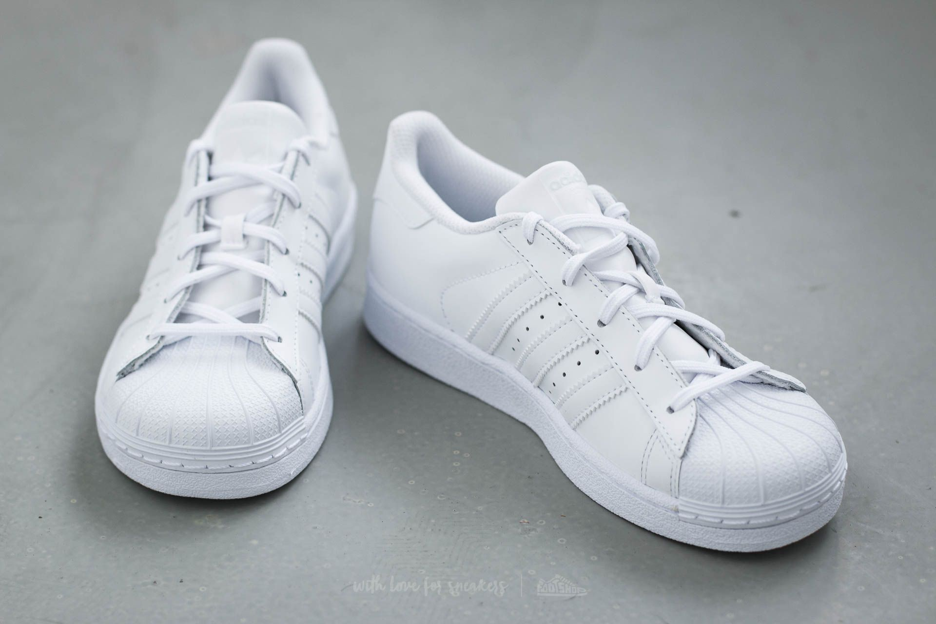 adidas Superstar Foundation C Ftw White Ftw White Ftw White | Footshop