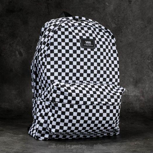 Vans Old Skool III backpack in blackwhite checkerboard