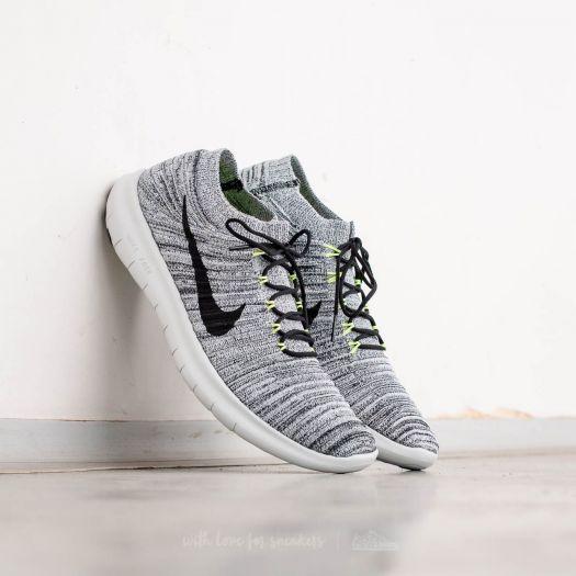 Nike Free RN Motion Flyknit Off White Volt Black | SneakerFiles