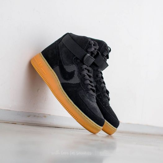 Nike Air Force 1 High '07 LV8 Black Black Gum Light Brown | Footshop