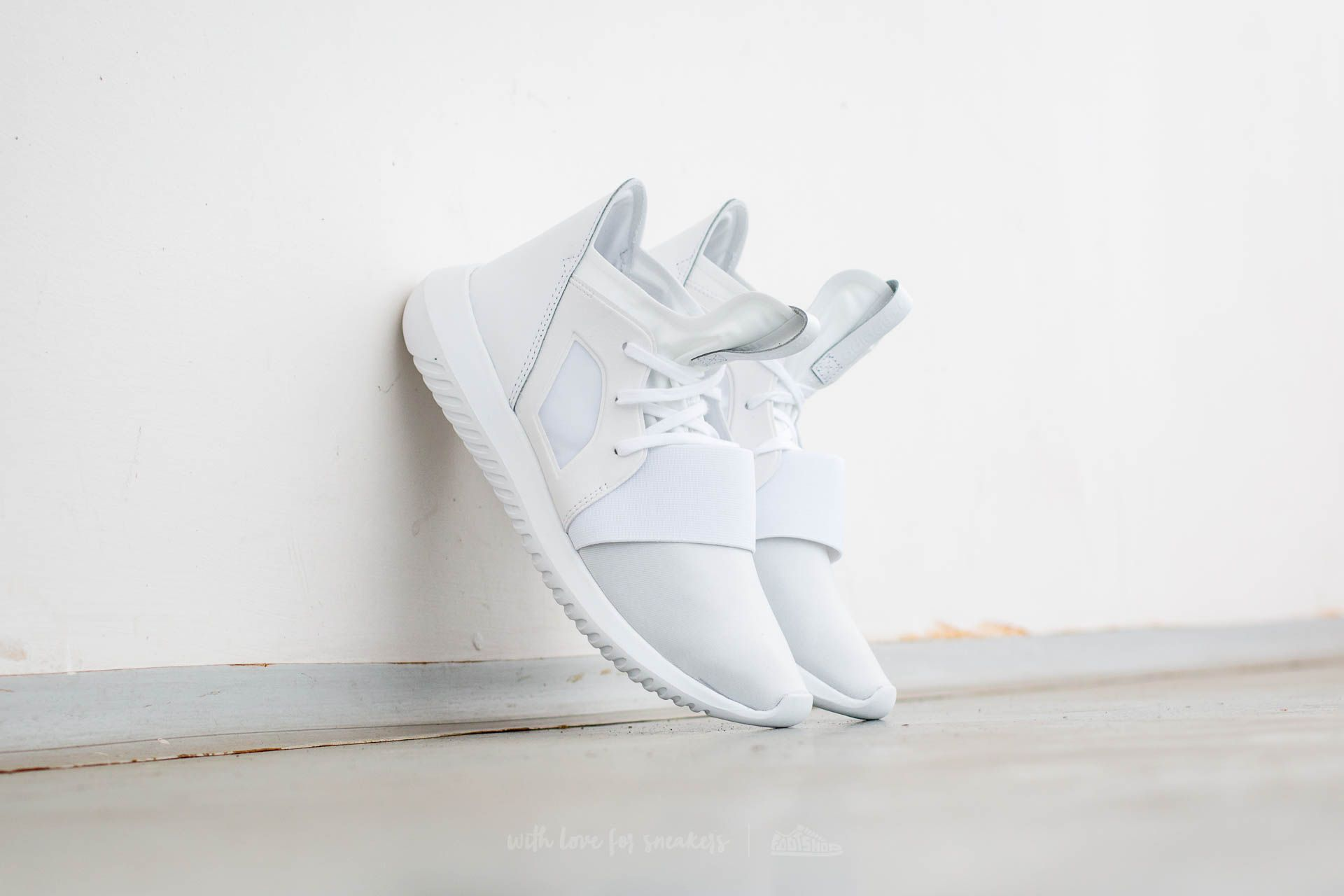 sports shoes b9cce aa945 adidas Tubular Defiant W. Core White  Core White