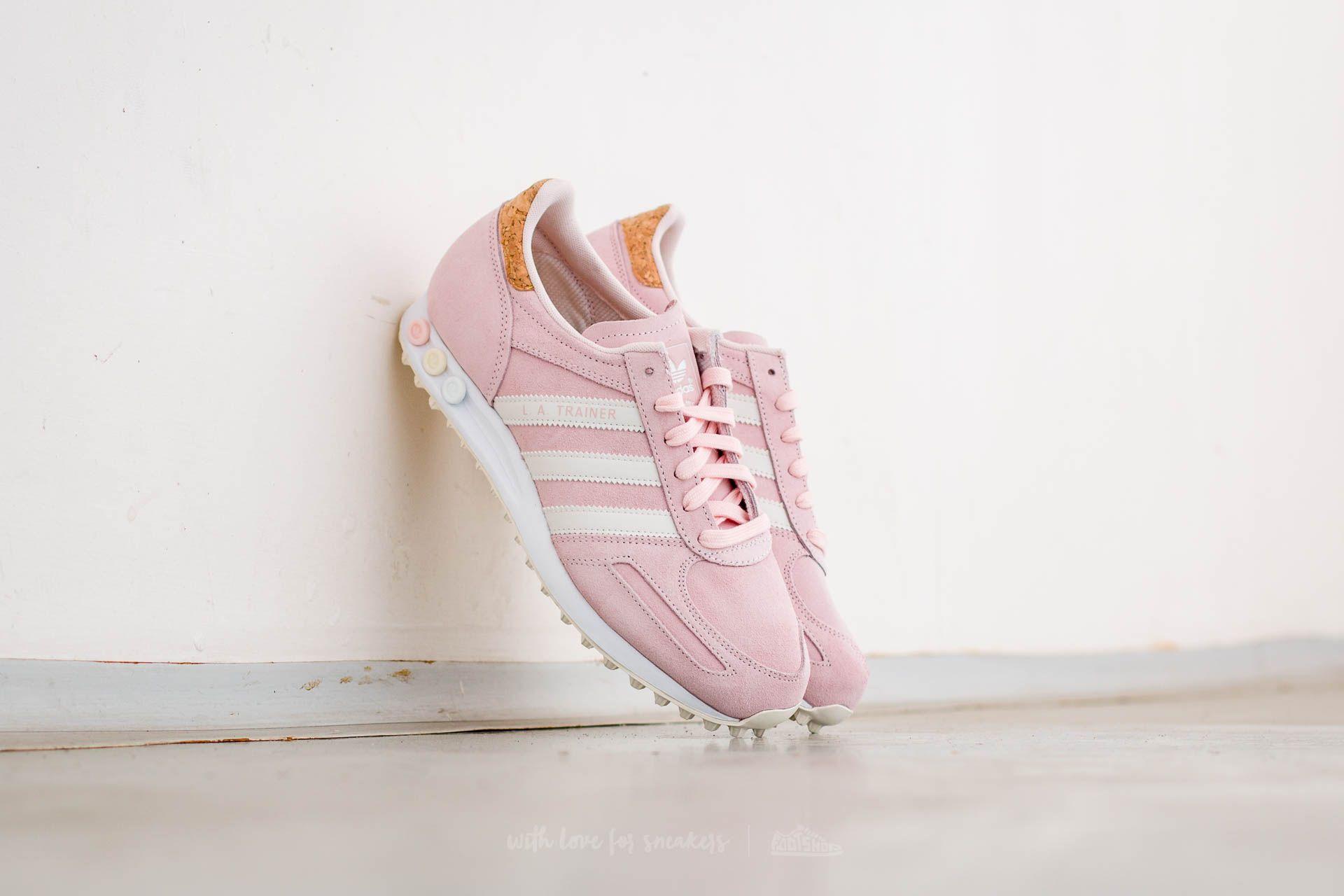 adidas LA Trainer W Halo Pink/ Off White/ Ftw White   Footshop
