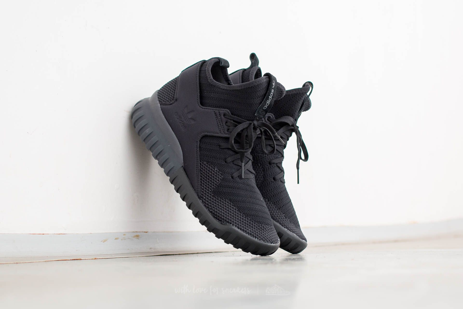 Adidas Originals Tubular X Primeknit Core BlackDark Grey