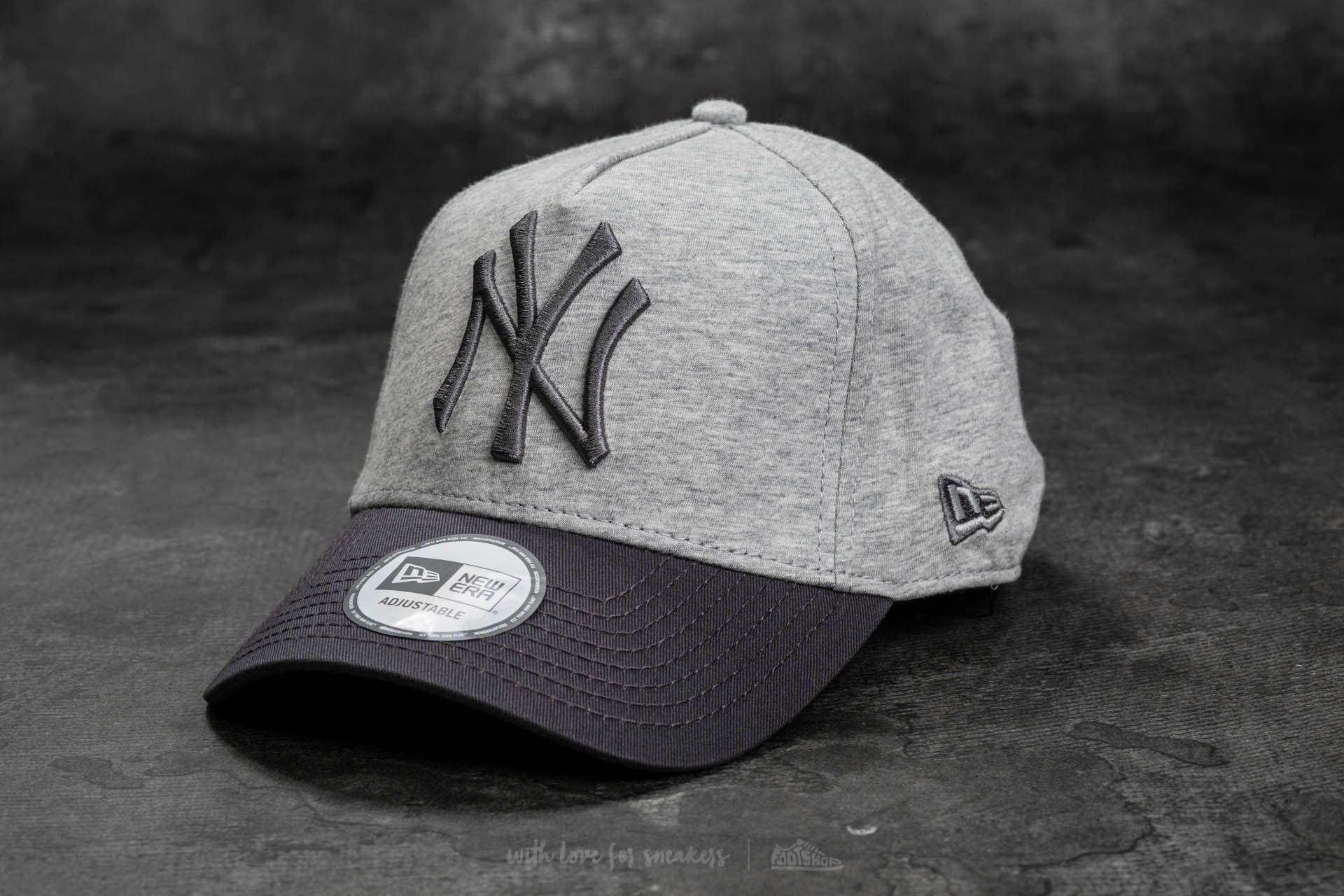 New Era 9Forty A-Frame Adjustable New York Yankees Cap Grey  Gray cf4113da4c46