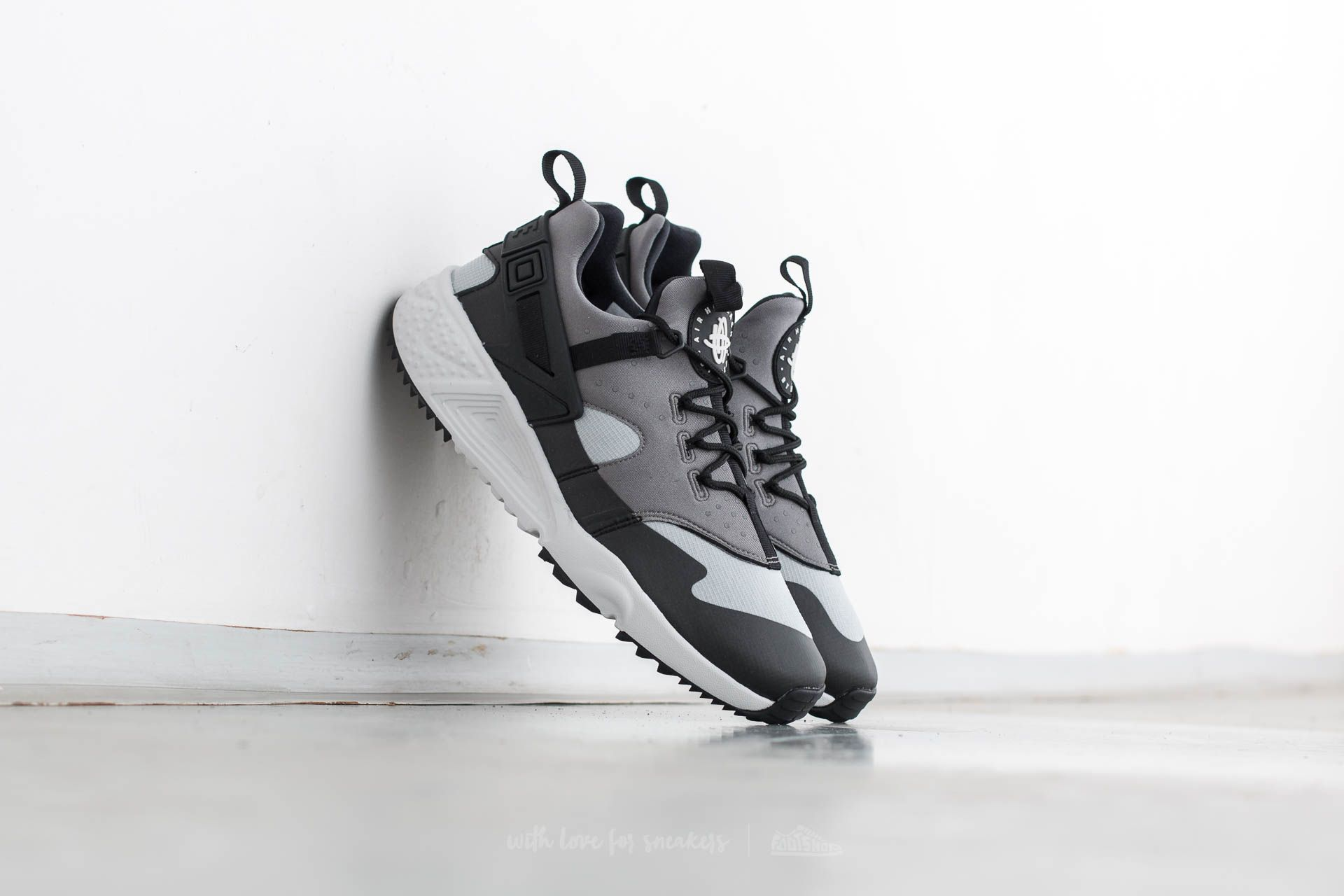 Nike Air Huarache Utility Base Grey Light Ash Grey   Footshop