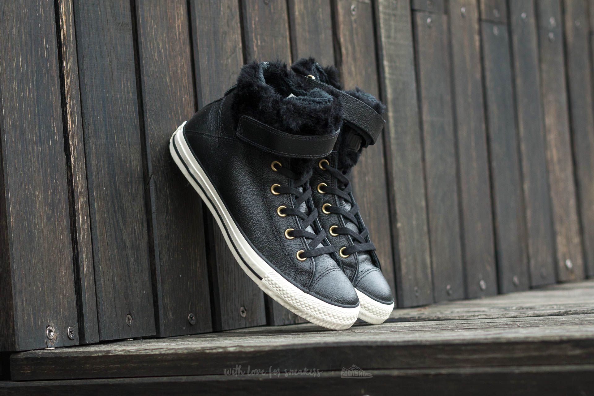 Converse Chuck Taylor AS Brea Leather Black  Black  Egret  0a304c79bc