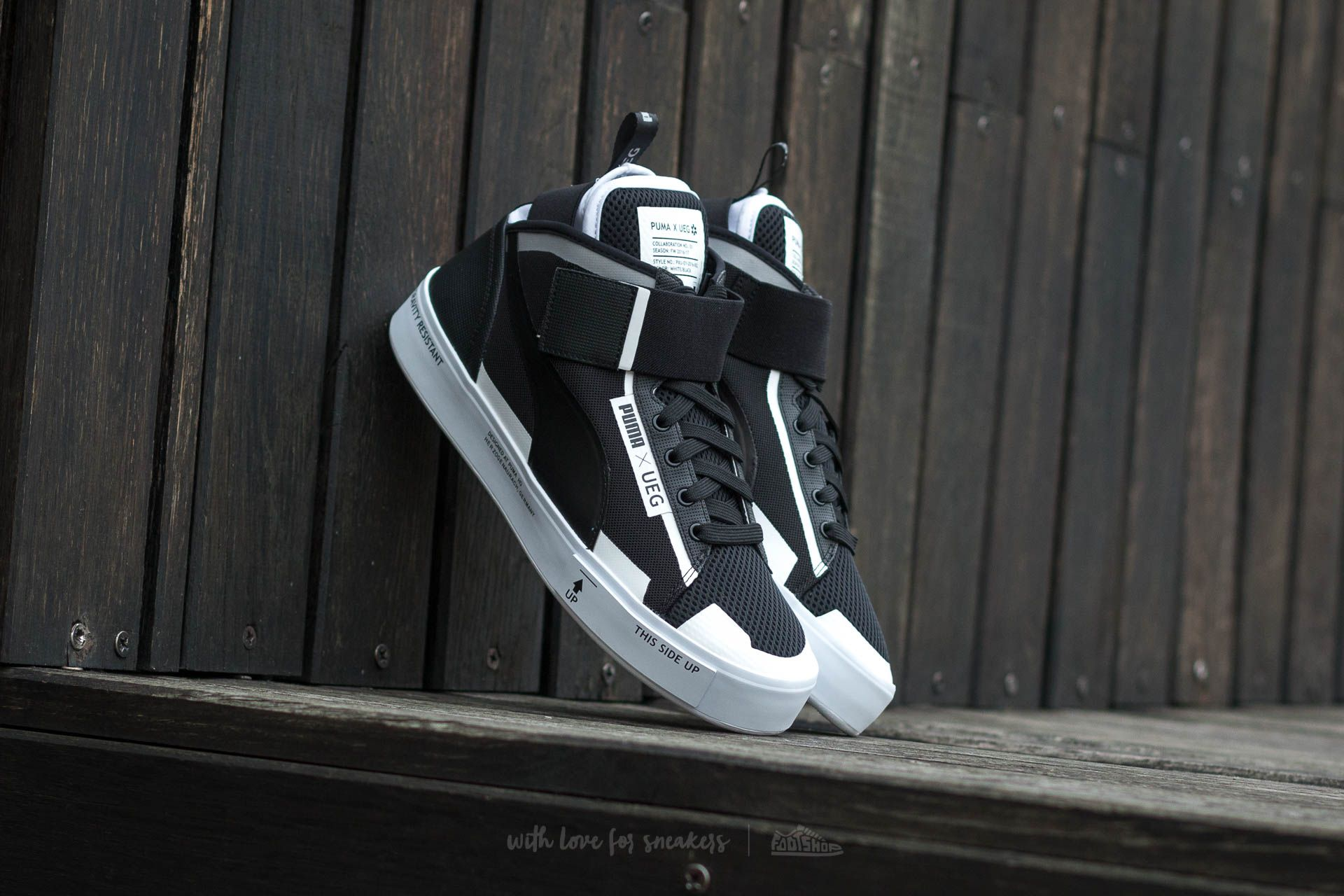 separation shoes 21f00 dd335 Puma Court Play x UEG Puma Black-Puma White