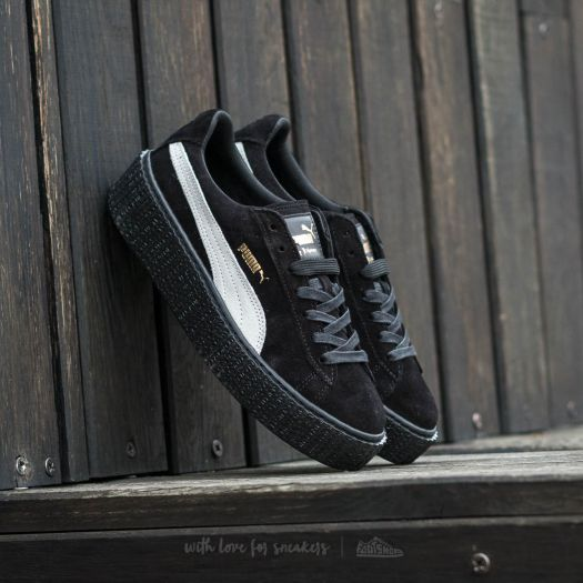 the best attitude 2246b 7dff2 Puma x Rihanna Suede Creeper Black-Star White-Black | Footshop