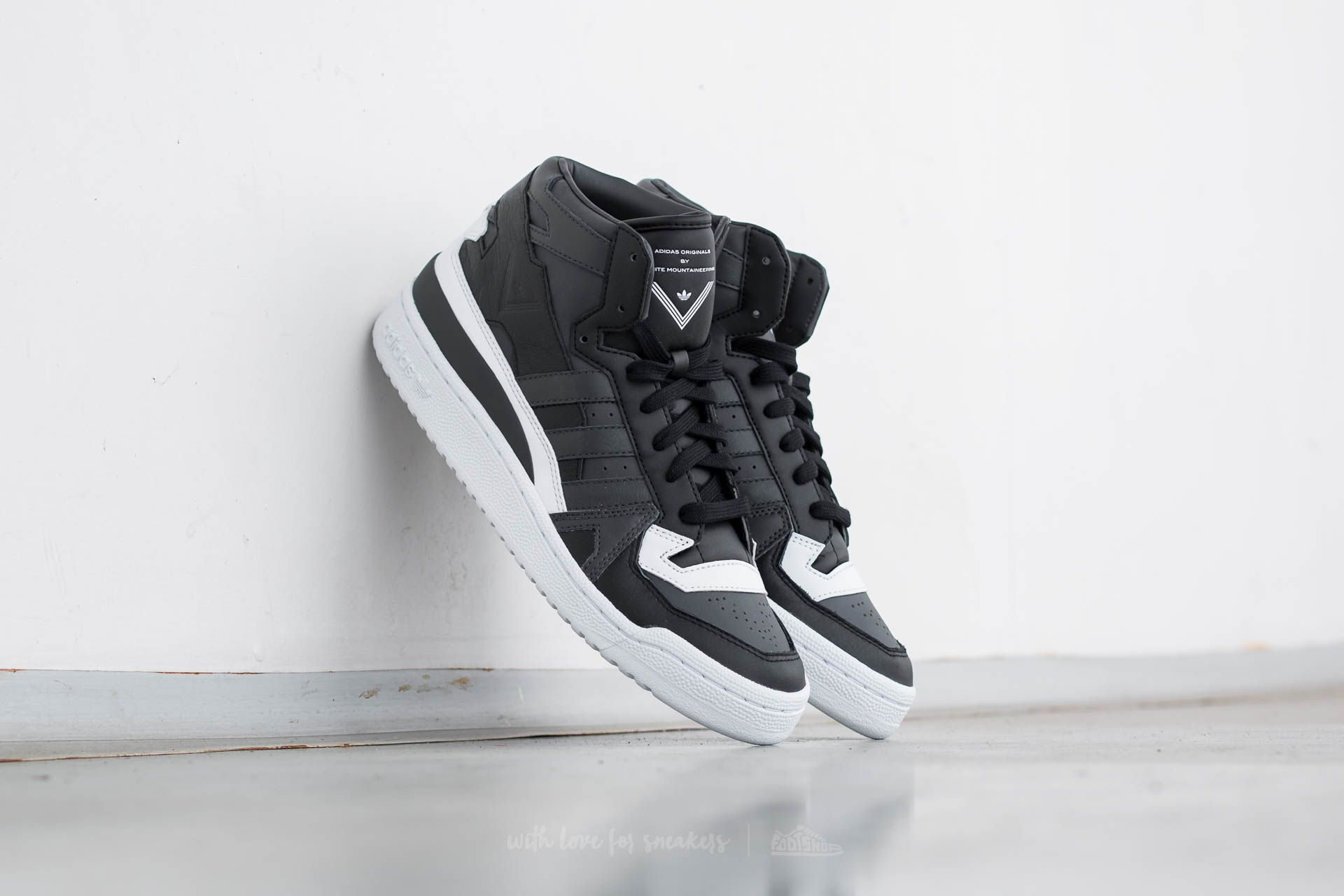 1309827310d adidas x White Mountaineering Forum Mid Utility Black  Dgh Solid ...