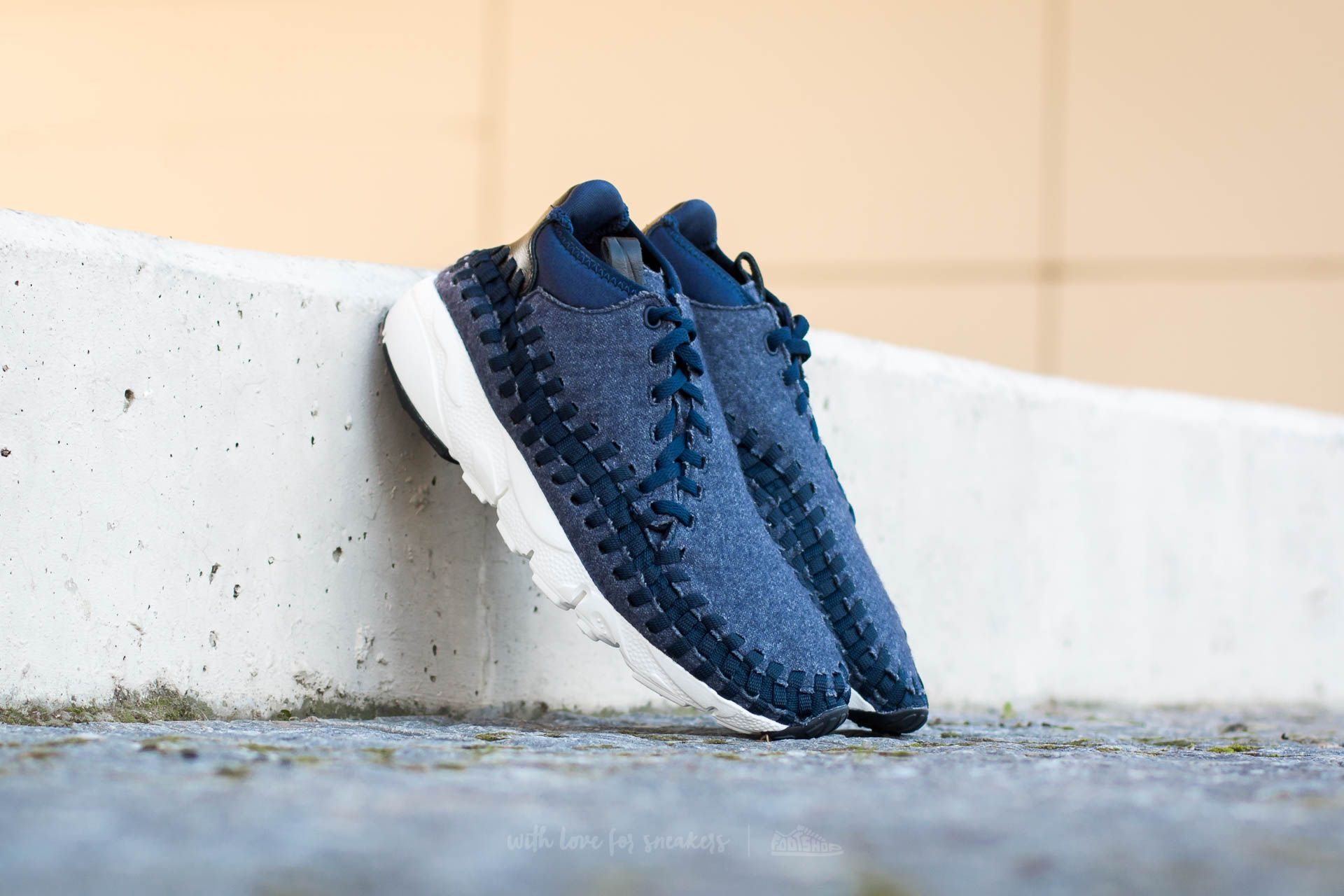 the latest 1cabd 70d64 Nike Air Footscape Woven Chukka SE Obsidian/ Black-Sail-Black | Footshop