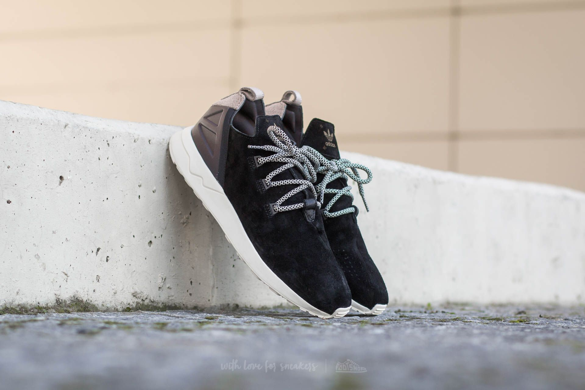 separation shoes 3f7d0 447cb adidas ZX Flux ADV X Core Black/ Core Black/ Ftw White ...